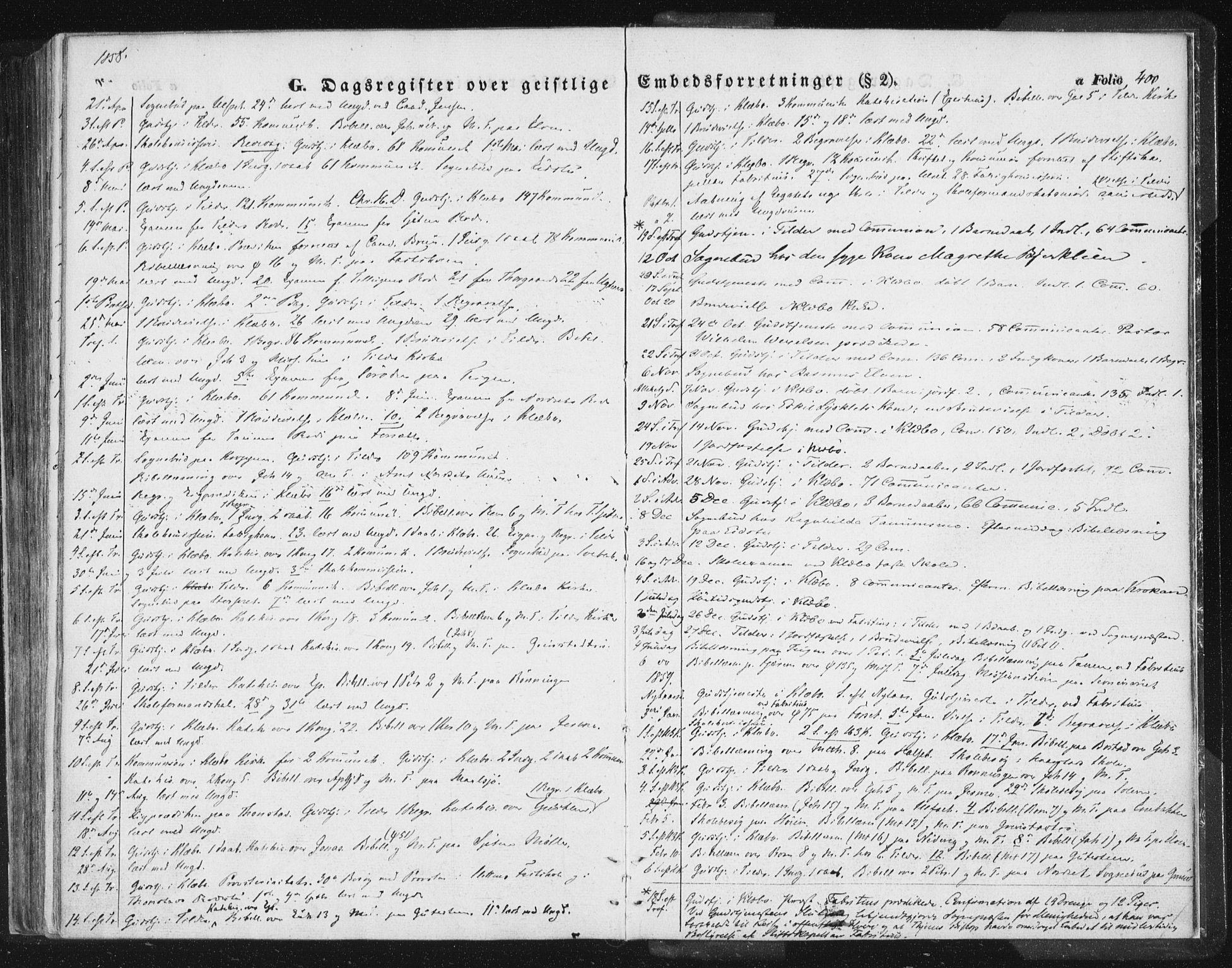 SAT, Ministerialprotokoller, klokkerbøker og fødselsregistre - Sør-Trøndelag, 618/L0441: Ministerialbok nr. 618A05, 1843-1862, s. 400