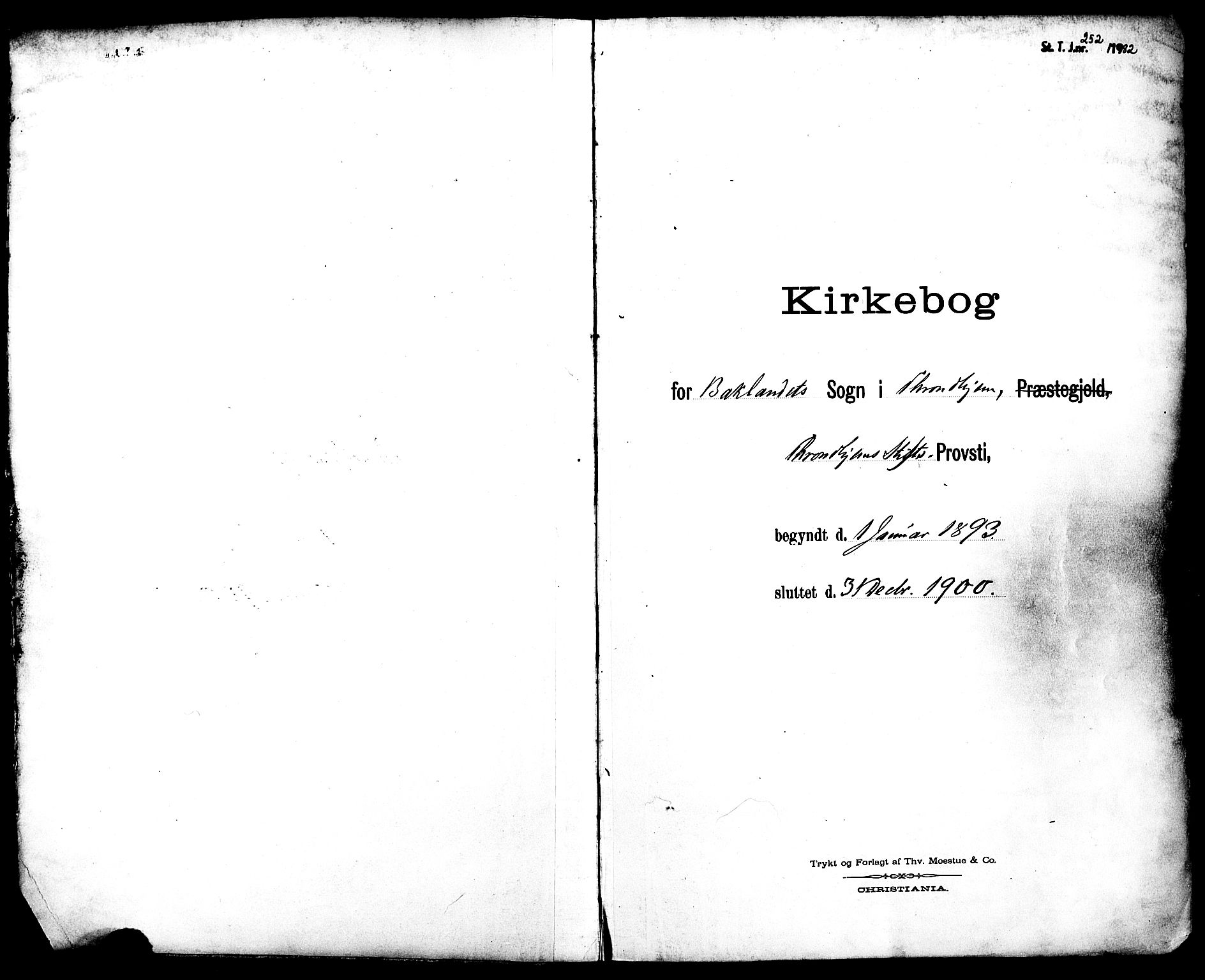 SAT, Ministerialprotokoller, klokkerbøker og fødselsregistre - Sør-Trøndelag, 604/L0198: Ministerialbok nr. 604A19, 1893-1900