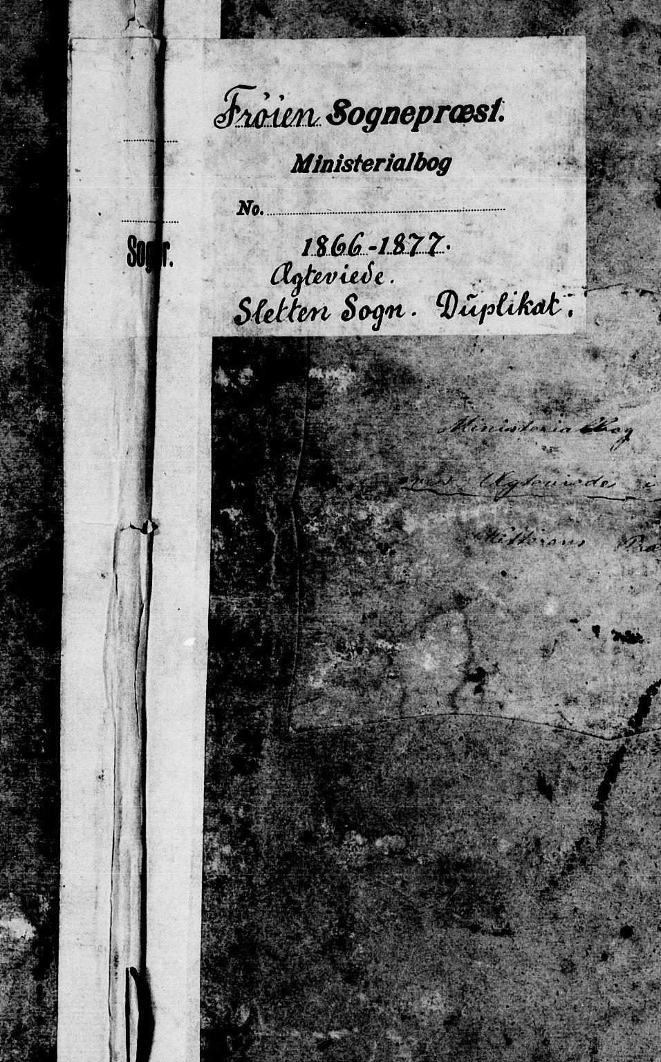 SAT, Ministerialprotokoller, klokkerbøker og fødselsregistre - Sør-Trøndelag, 640/L0584: Klokkerbok nr. 640C02, 1866-1877