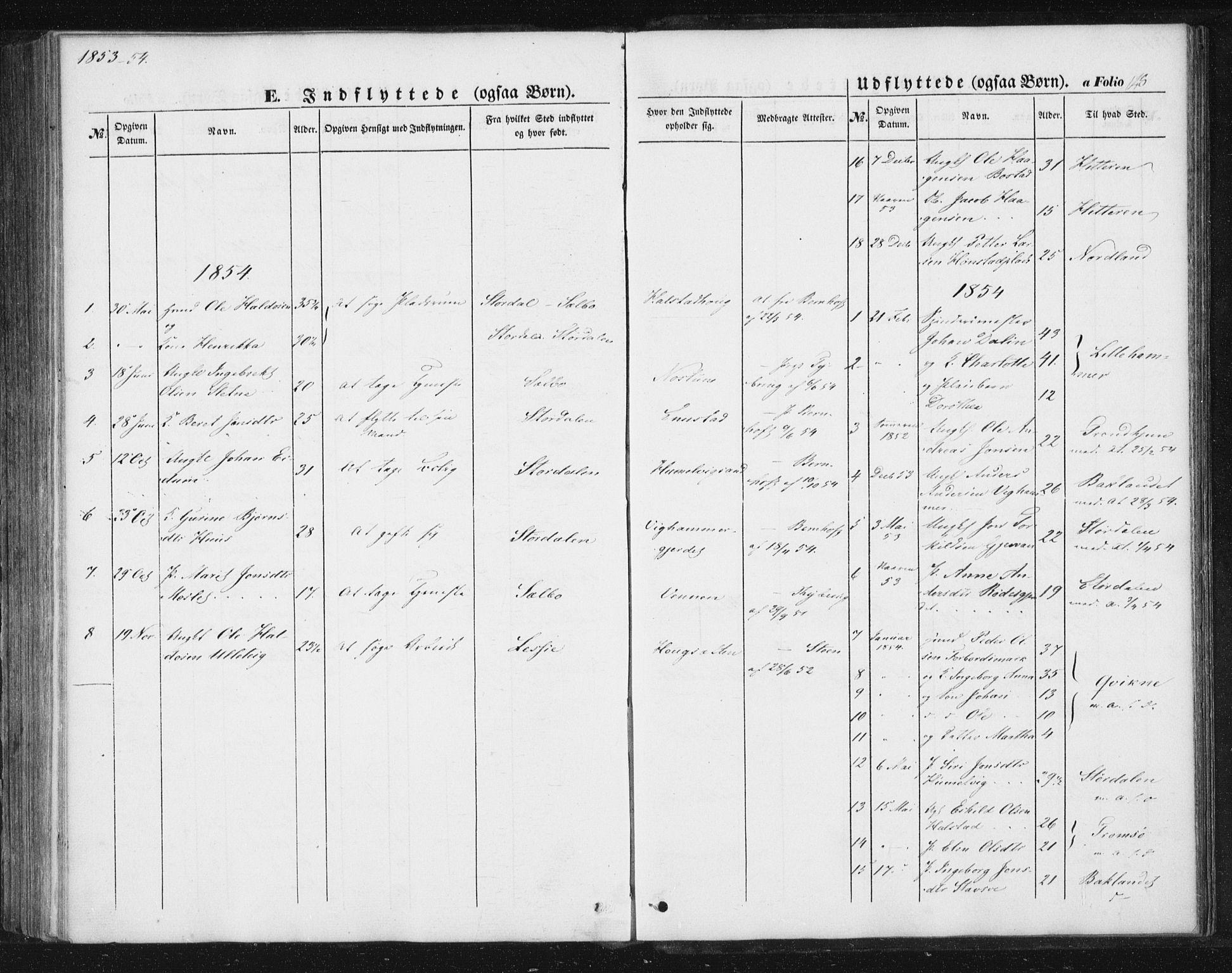 SAT, Ministerialprotokoller, klokkerbøker og fødselsregistre - Sør-Trøndelag, 616/L0407: Ministerialbok nr. 616A04, 1848-1856, s. 148