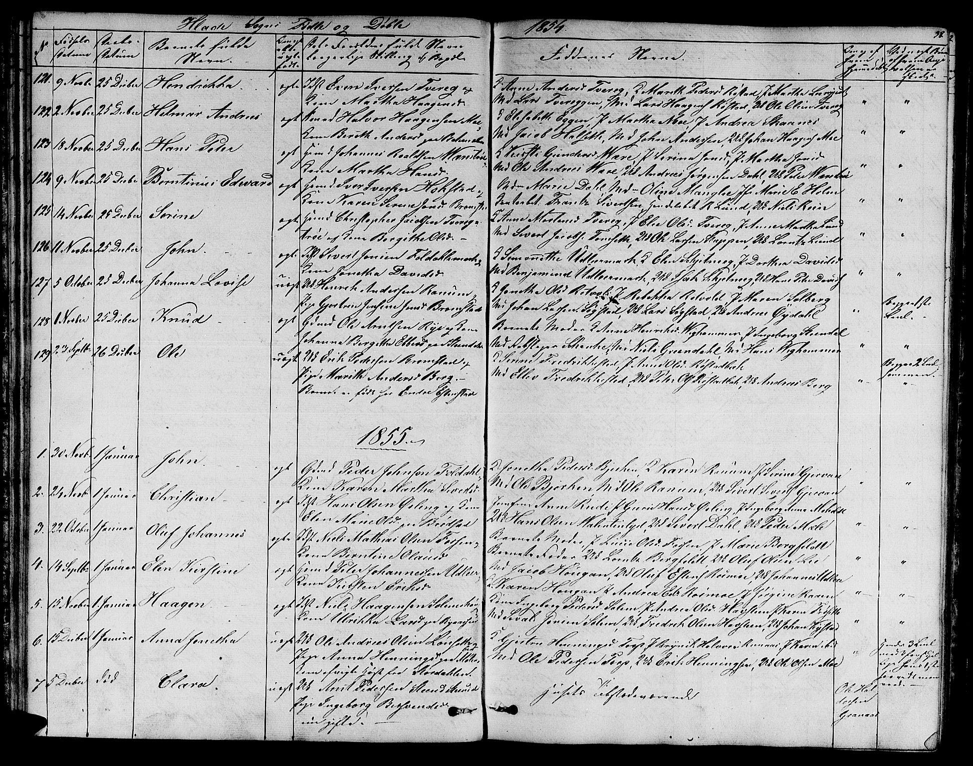 SAT, Ministerialprotokoller, klokkerbøker og fødselsregistre - Sør-Trøndelag, 606/L0310: Klokkerbok nr. 606C06, 1850-1859, s. 38