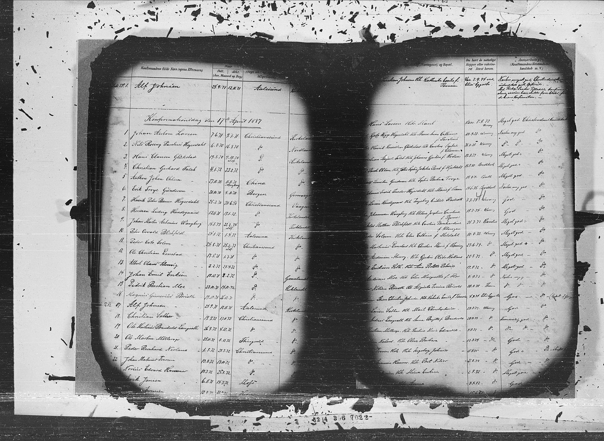 SAT, Ministerialprotokoller, klokkerbøker og fødselsregistre - Møre og Romsdal, 572/L0852: Ministerialbok nr. 572A15, 1880-1900, s. 41
