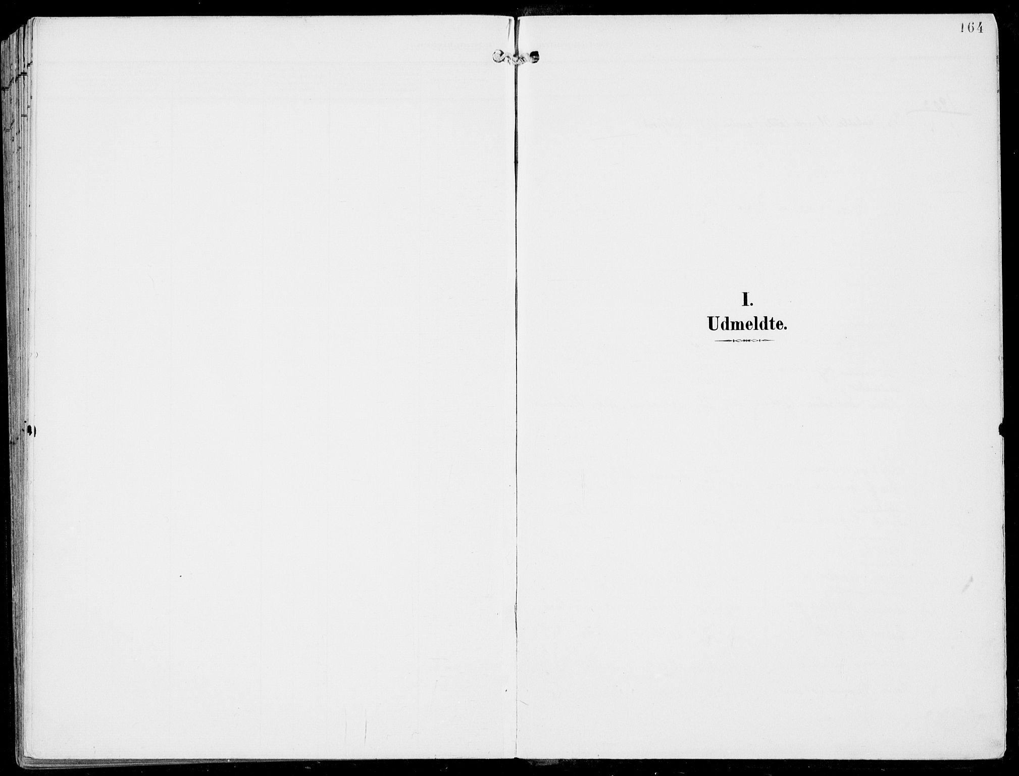 SAB, Ulvik Sokneprestembete, H/Haa: Ministerialbok nr. B  2, 1898-1924, s. 164