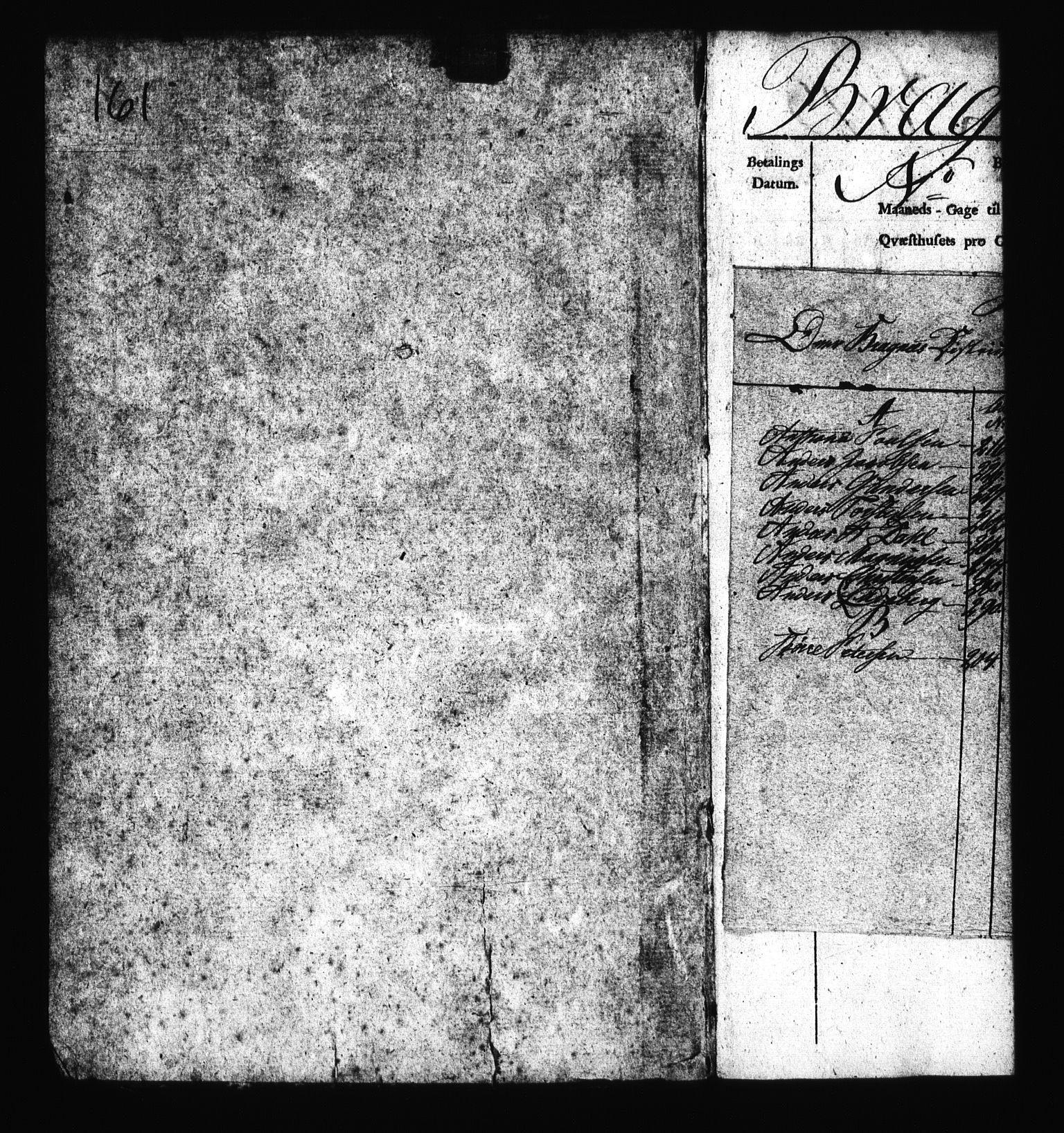 RA, Sjøetaten, F/L0162: Bragernes distrikt, bind 3, 1811