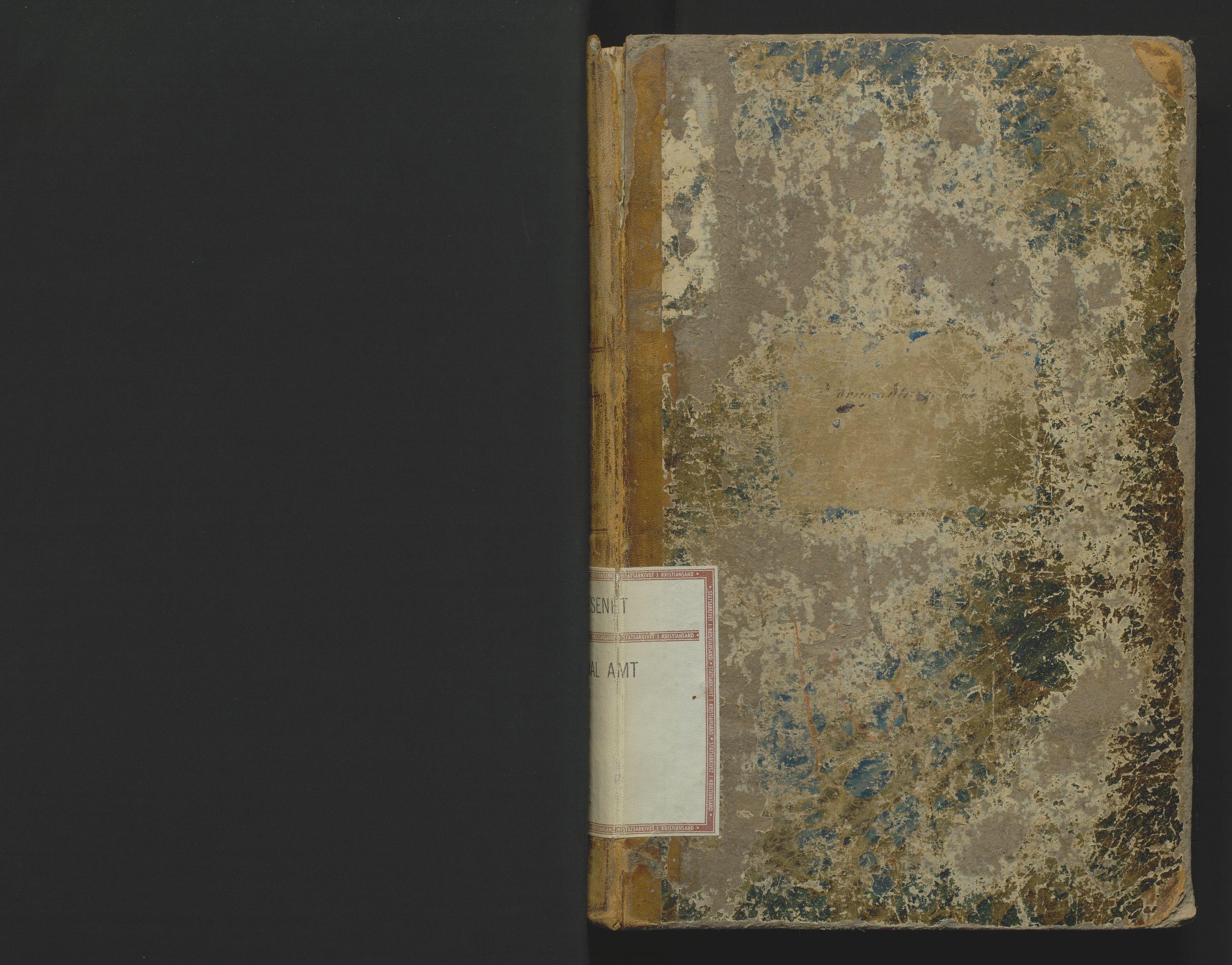 SAK, Utskiftningsformannen i Lister og Mandal amt, F/Fa/Faa/L0010: Utskiftningsprotokoll med register nr 10, 1866-1872