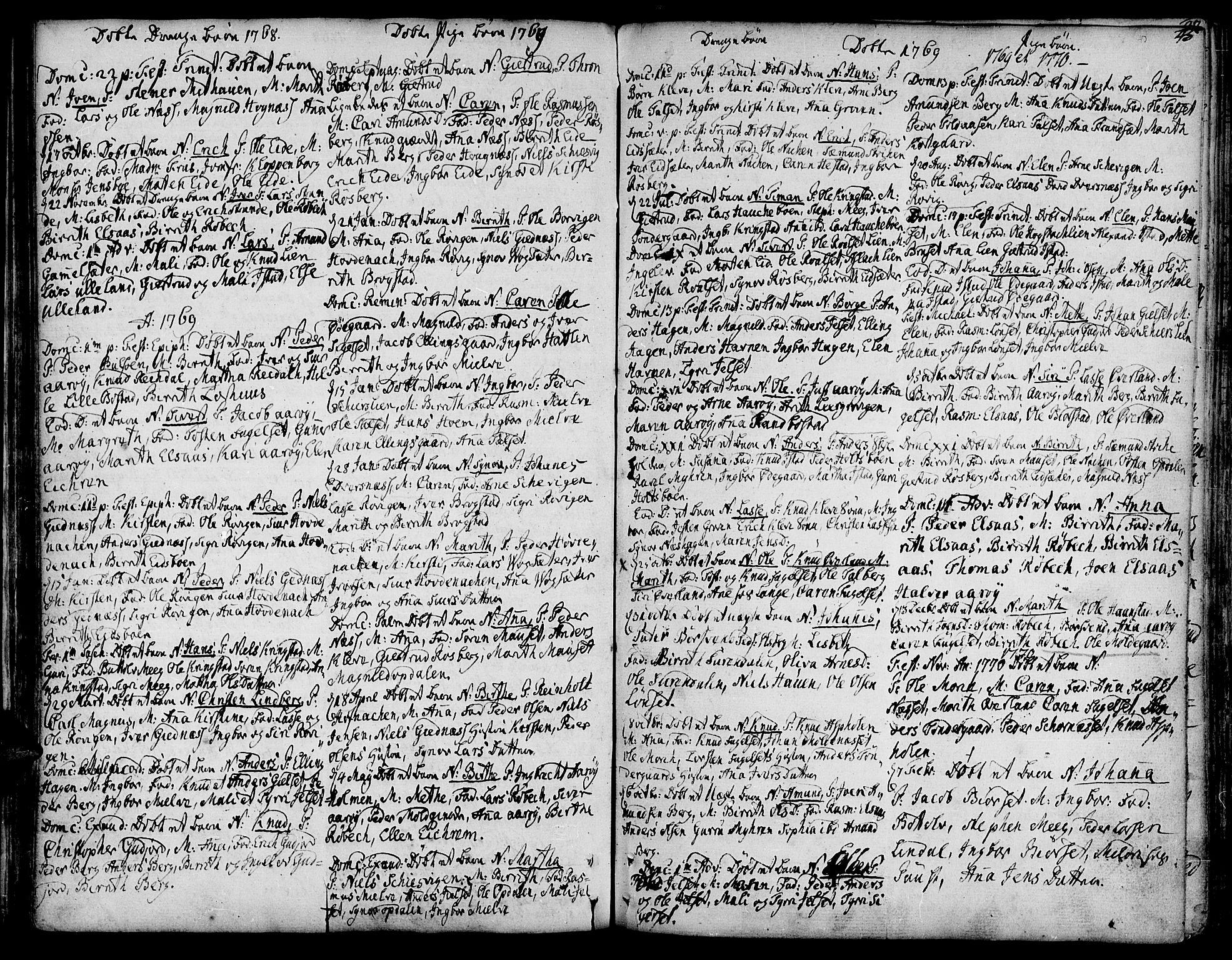SAT, Ministerialprotokoller, klokkerbøker og fødselsregistre - Møre og Romsdal, 555/L0648: Ministerialbok nr. 555A01, 1759-1793, s. 45