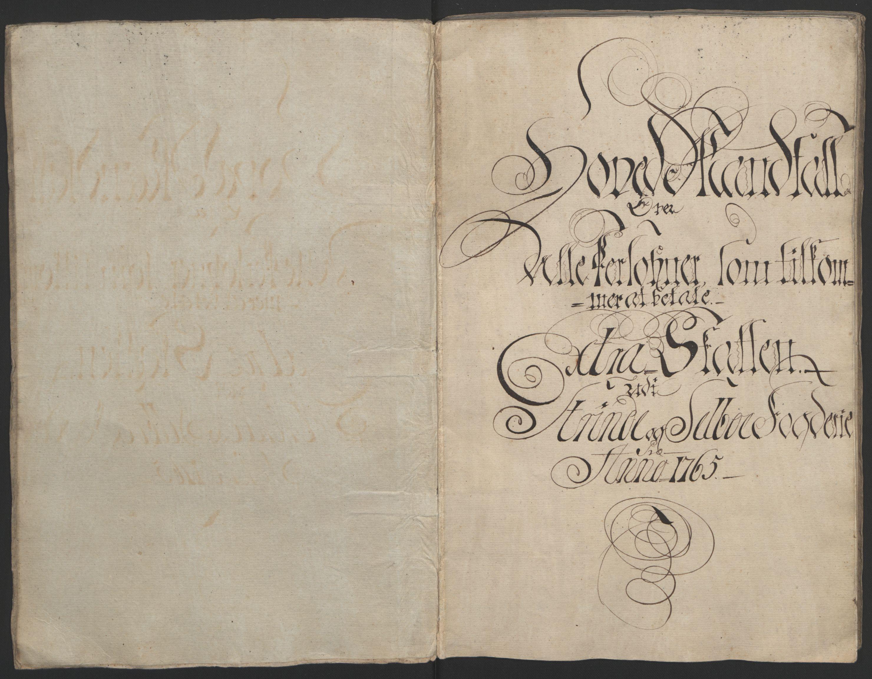 RA, Rentekammeret inntil 1814, Reviderte regnskaper, Fogderegnskap, R61/L4180: Ekstraskatten Strinda og Selbu, 1762-1767, s. 89