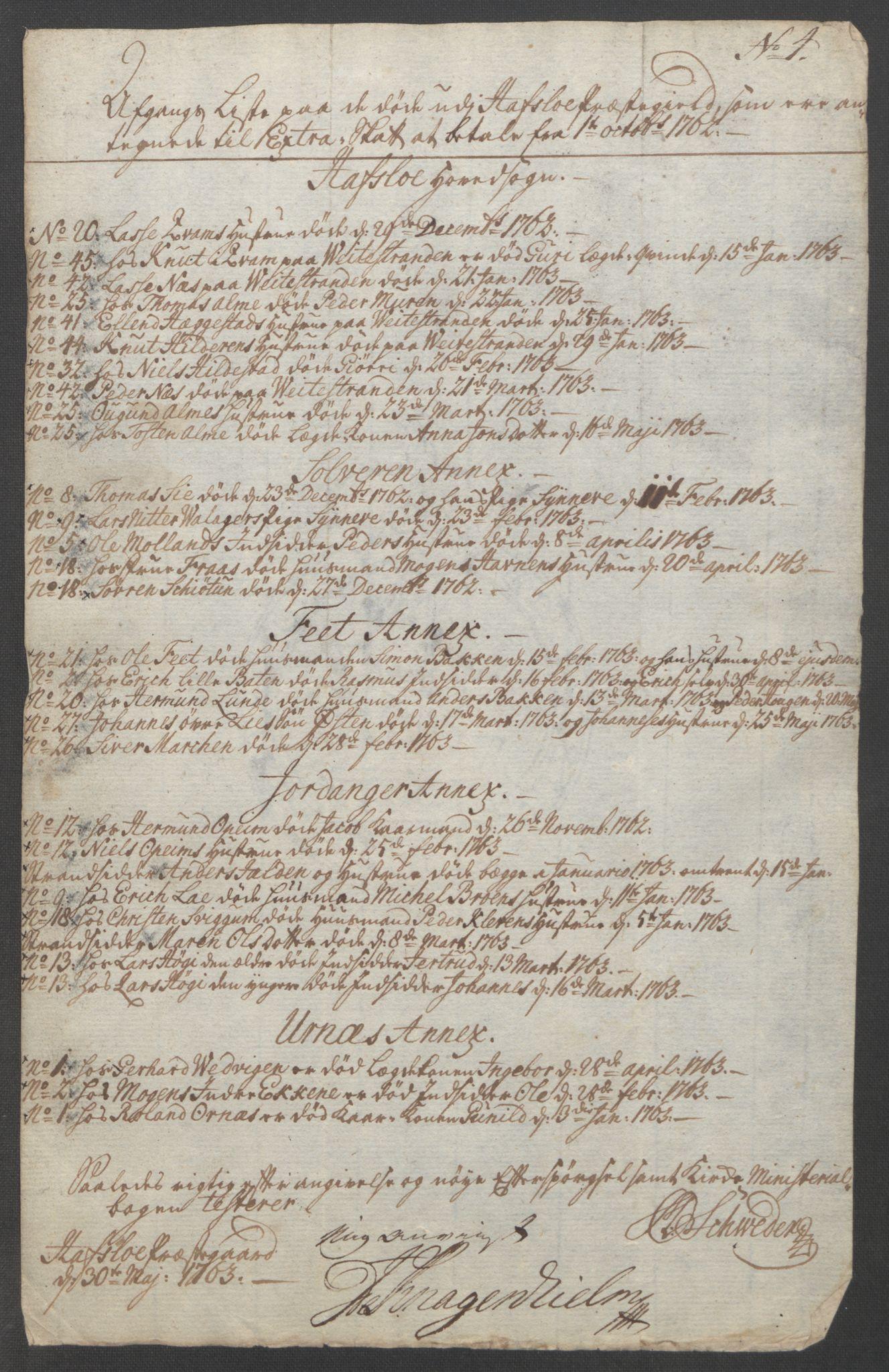 RA, Rentekammeret inntil 1814, Reviderte regnskaper, Fogderegnskap, R52/L3418: Ekstraskatten Sogn, 1762-1769, s. 81