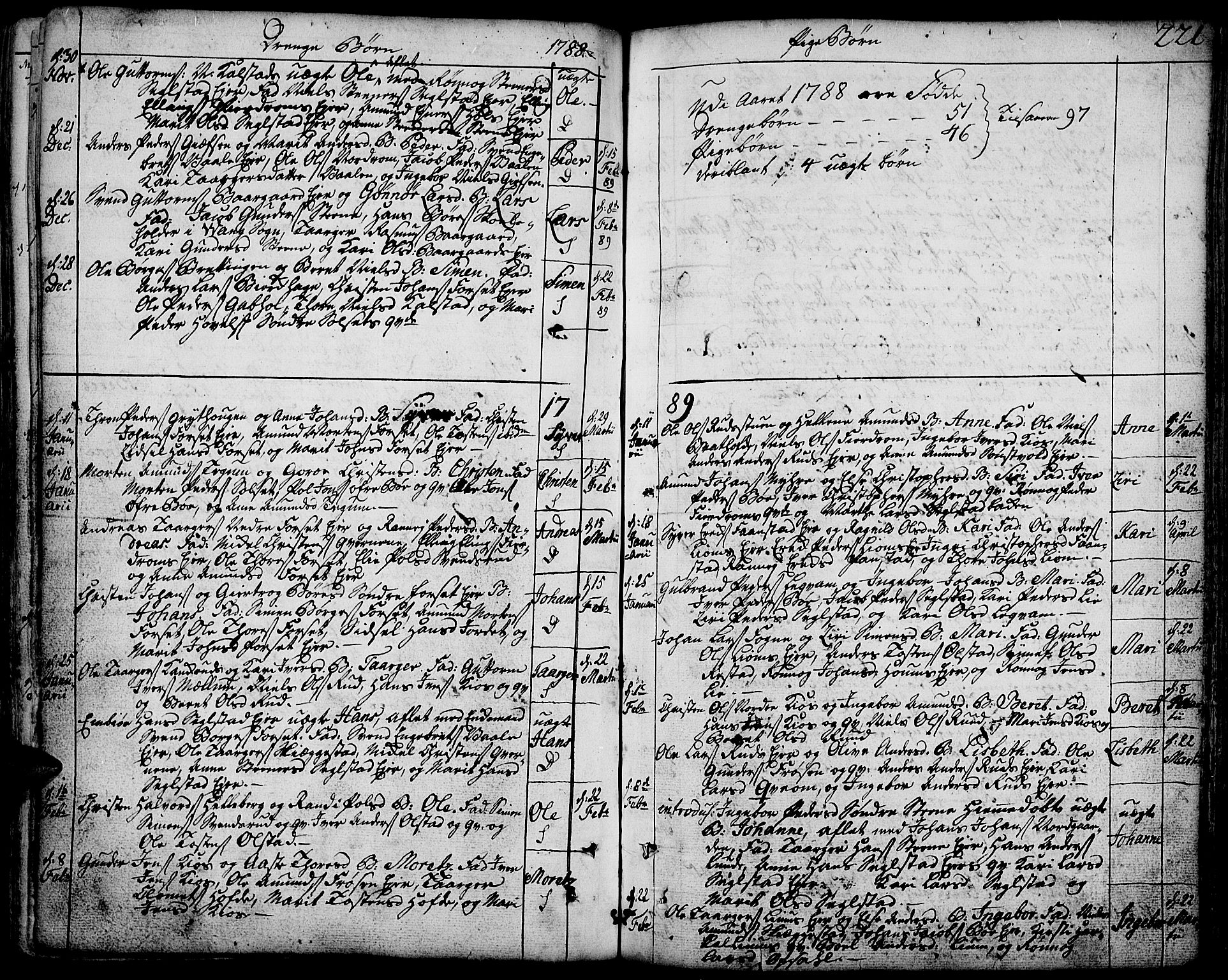 SAH, Gausdal prestekontor, Ministerialbok nr. 3, 1758-1809, s. 221