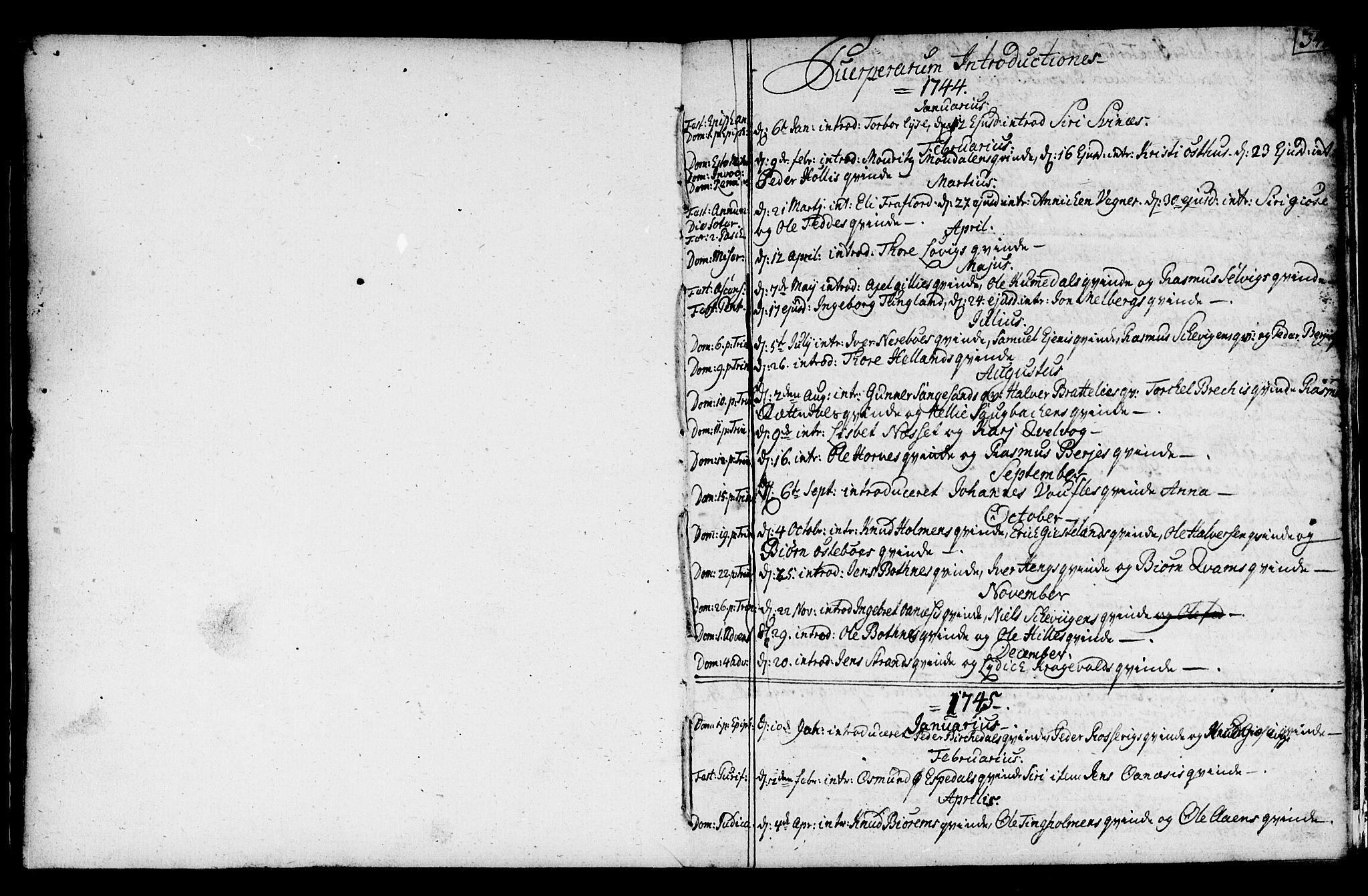 SAST, Strand sokneprestkontor, H/Ha/Haa/L0002: Ministerialbok nr. A 2, 1744-1768, s. 341