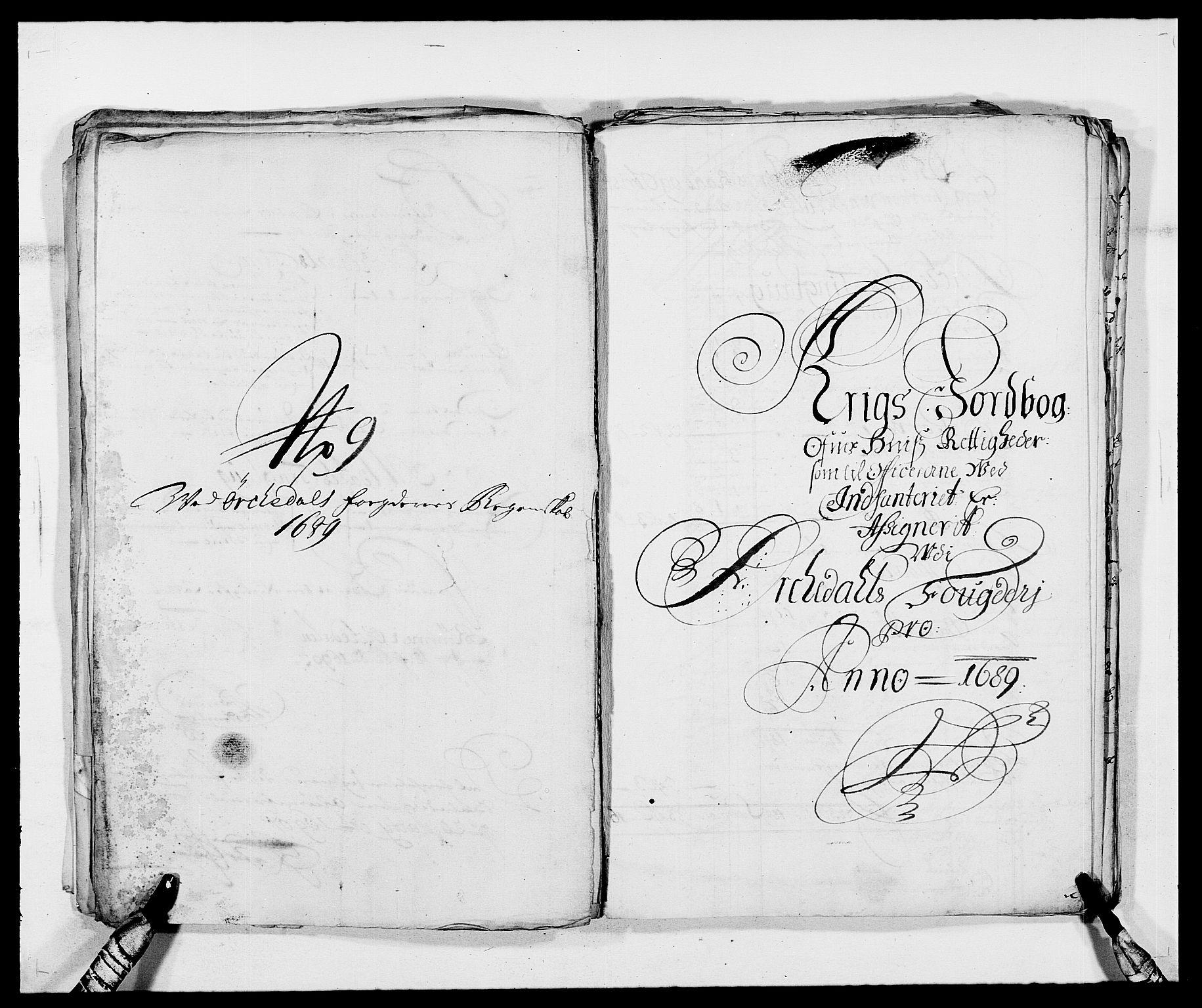 RA, Rentekammeret inntil 1814, Reviderte regnskaper, Fogderegnskap, R58/L3936: Fogderegnskap Orkdal, 1689-1690, s. 195