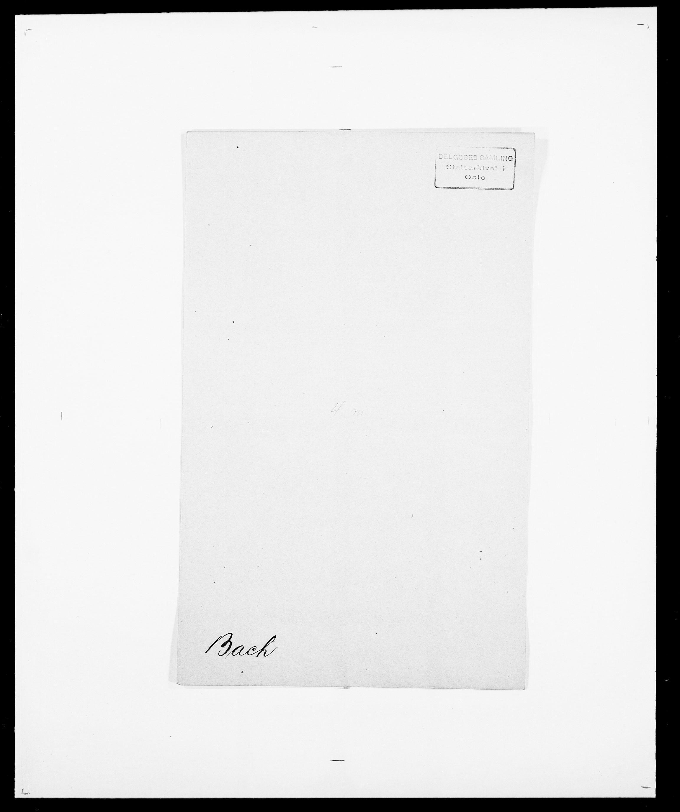 SAO, Delgobe, Charles Antoine - samling, D/Da/L0003: Barca - Bergen, s. 22