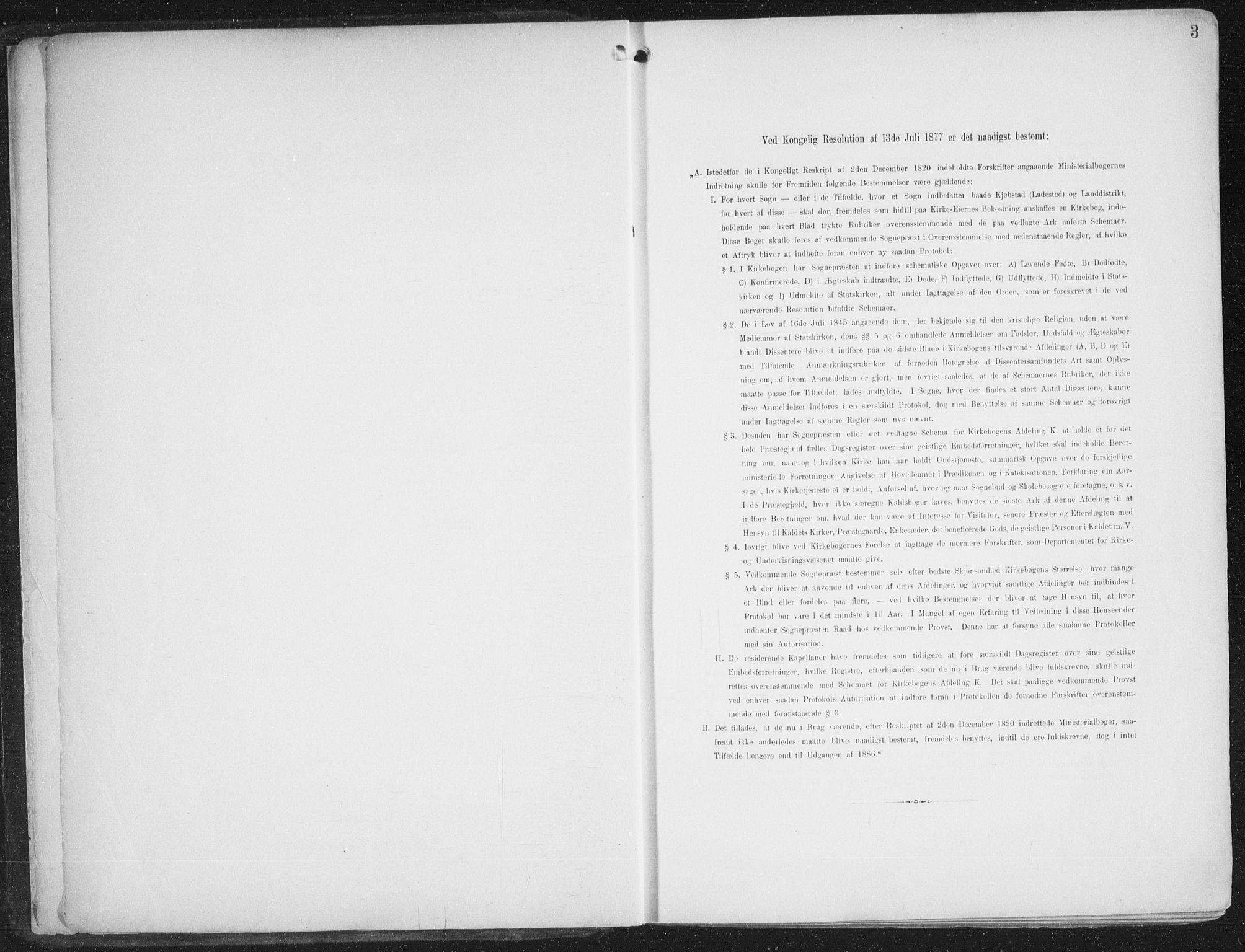 SATØ, Alta sokneprestkontor, H/Ha/L0005.kirke: Ministerialbok nr. 5, 1904-1918, s. 3