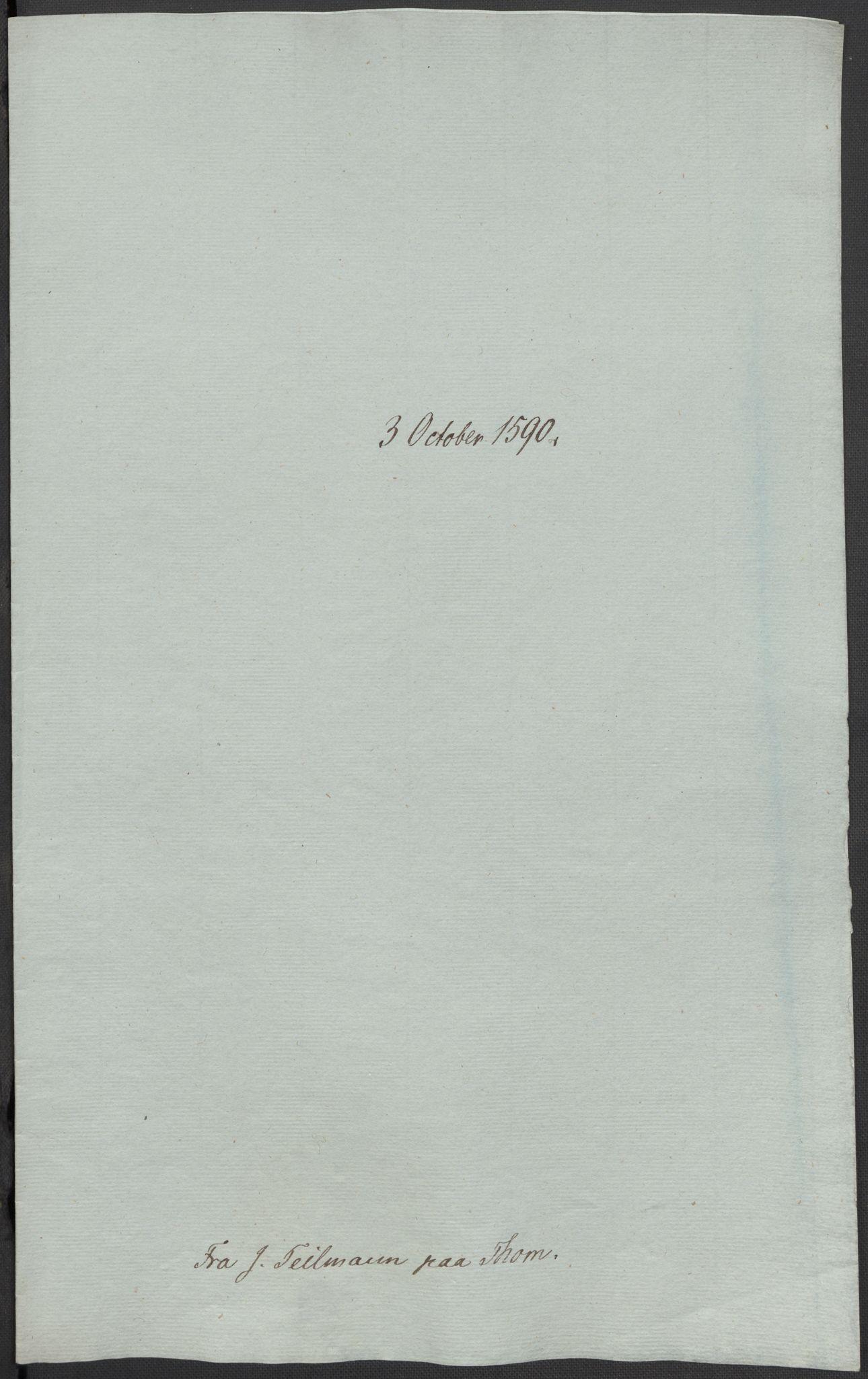 RA, Riksarkivets diplomsamling, F02/L0092: Dokumenter, 1590, s. 34