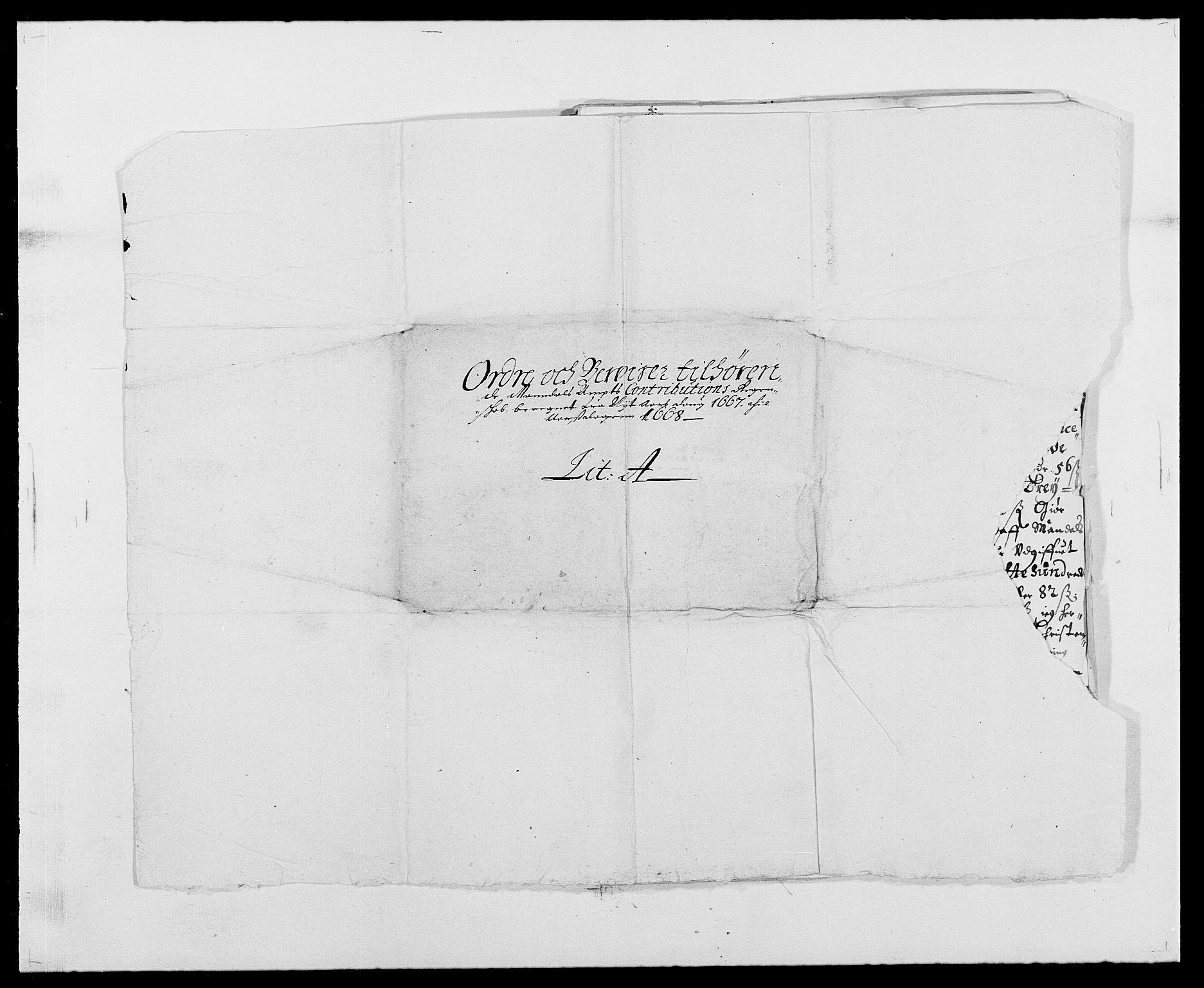 RA, Rentekammeret inntil 1814, Reviderte regnskaper, Fogderegnskap, R42/L2538: Mandal fogderi, 1667-1670, s. 40