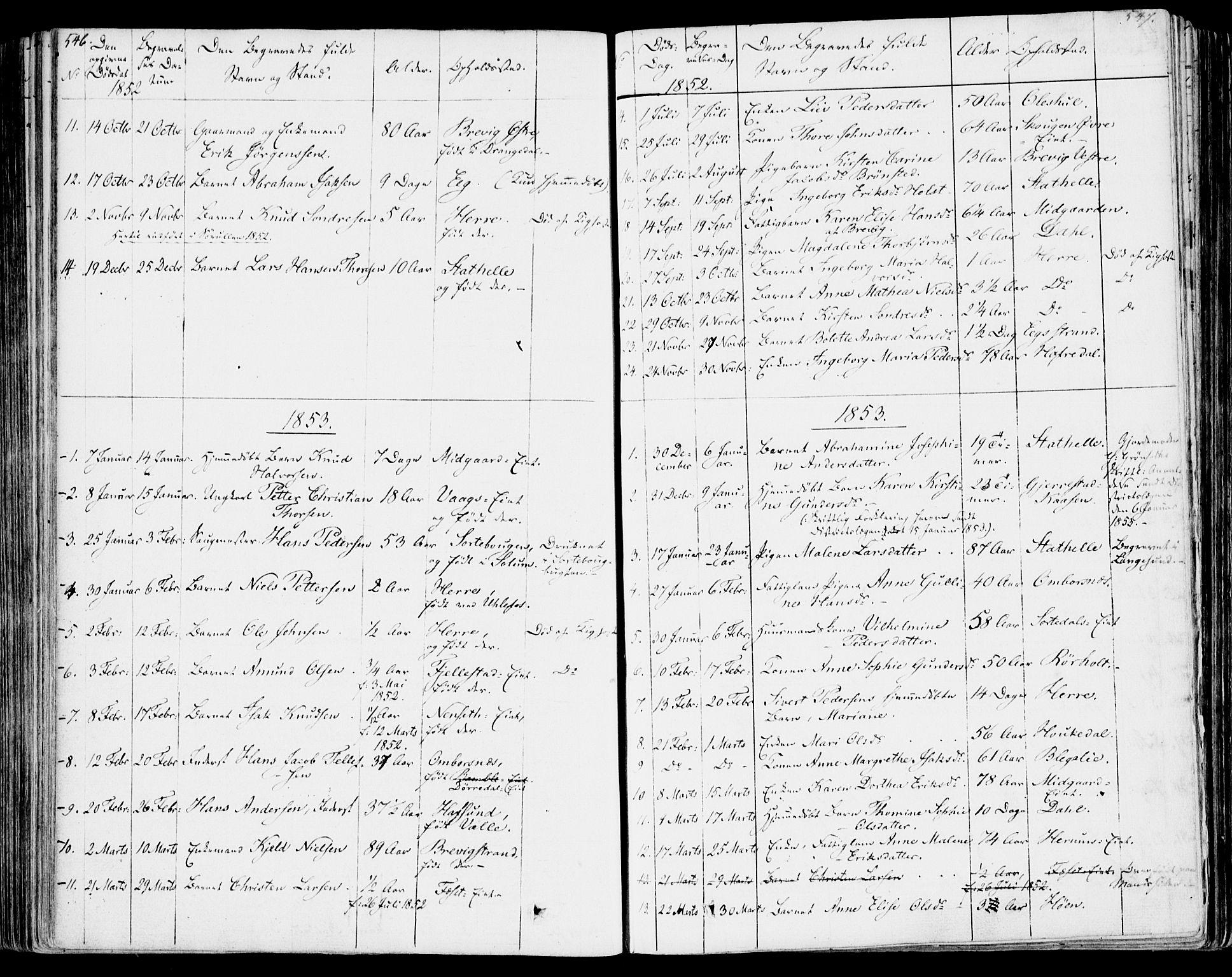 SAKO, Bamble kirkebøker, F/Fa/L0004: Ministerialbok nr. I 4, 1834-1853, s. 546-547