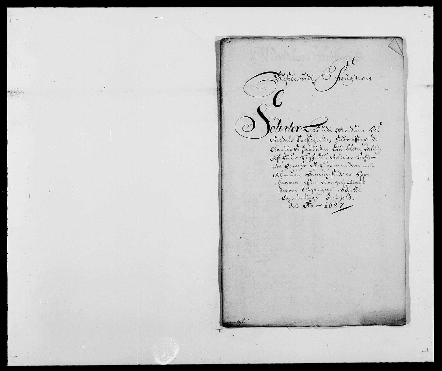 RA, Rentekammeret inntil 1814, Reviderte regnskaper, Fogderegnskap, R25/L1679: Fogderegnskap Buskerud, 1687-1688, s. 186