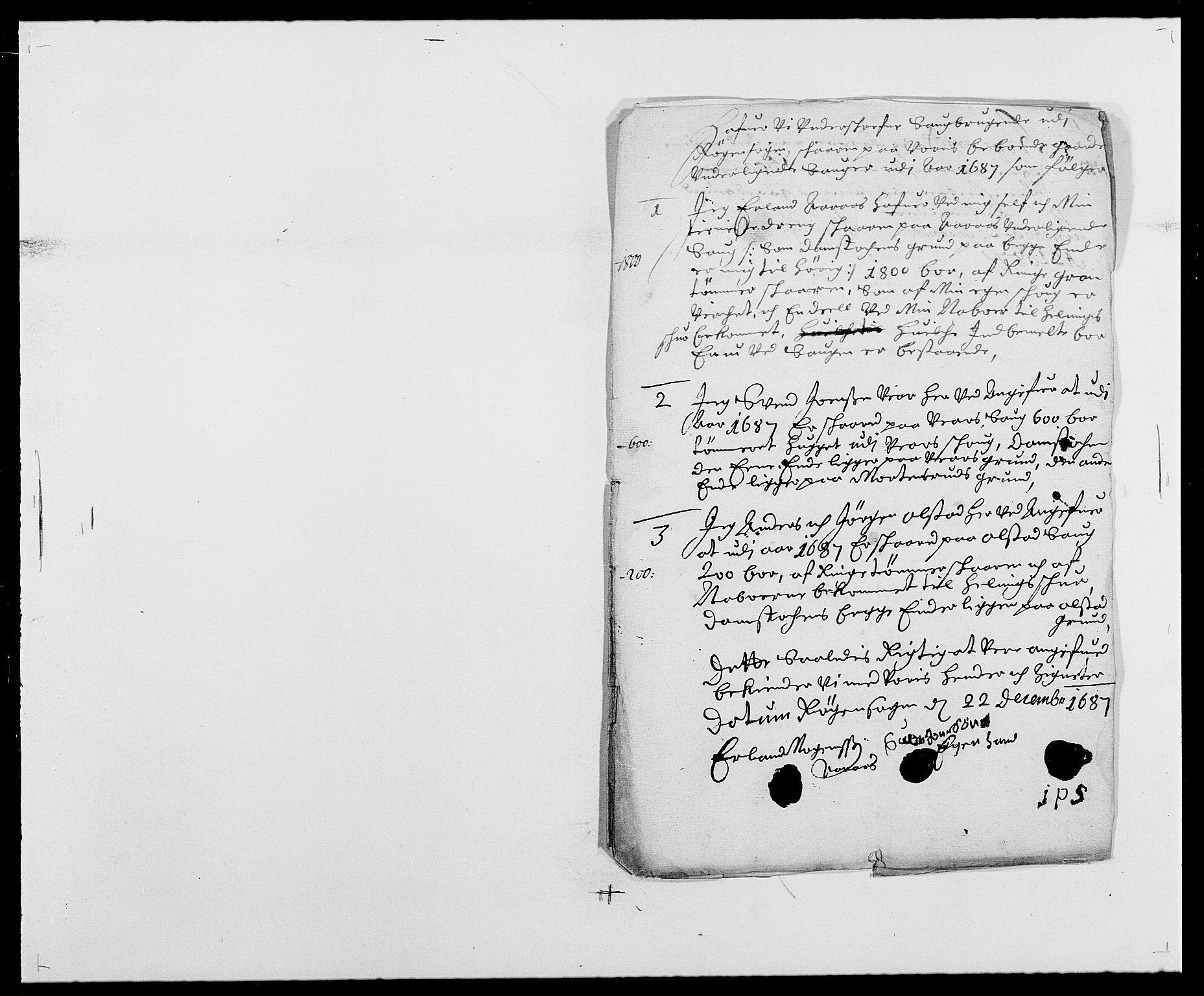 RA, Rentekammeret inntil 1814, Reviderte regnskaper, Fogderegnskap, R29/L1692: Fogderegnskap Hurum og Røyken, 1682-1687, s. 336