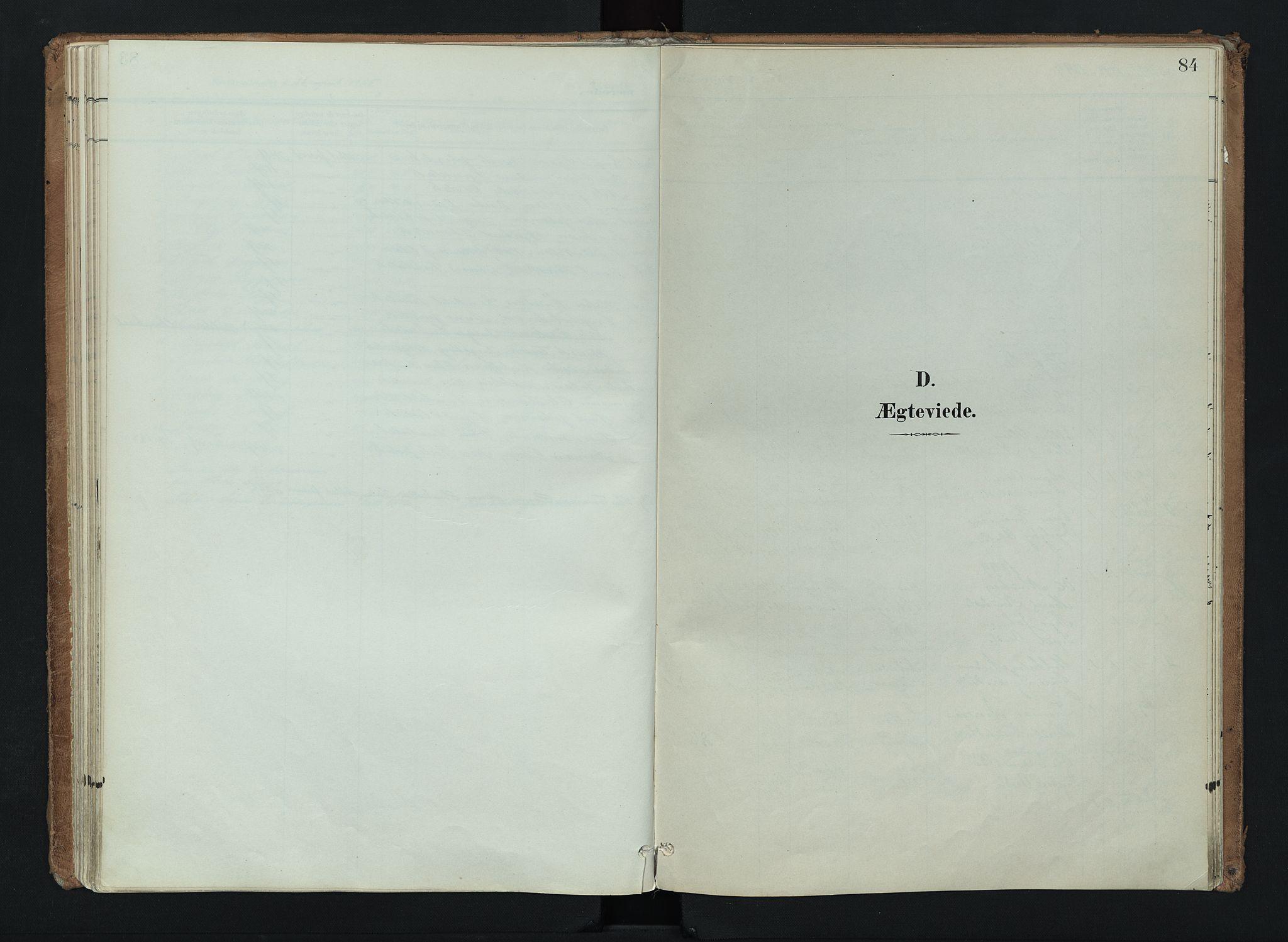 SAH, Nord-Aurdal prestekontor, Ministerialbok nr. 16, 1897-1925, s. 84