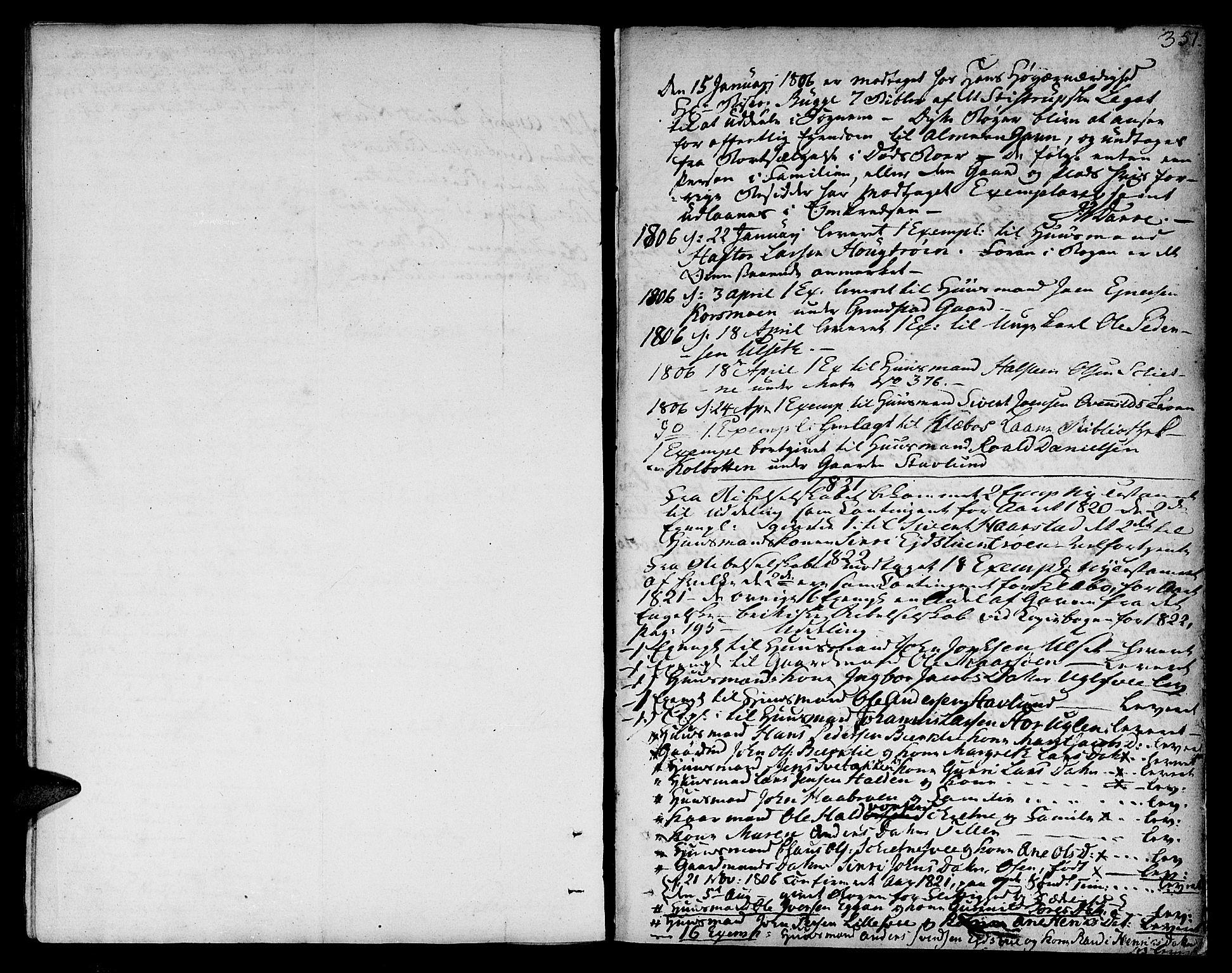 SAT, Ministerialprotokoller, klokkerbøker og fødselsregistre - Sør-Trøndelag, 618/L0438: Ministerialbok nr. 618A03, 1783-1815, s. 351