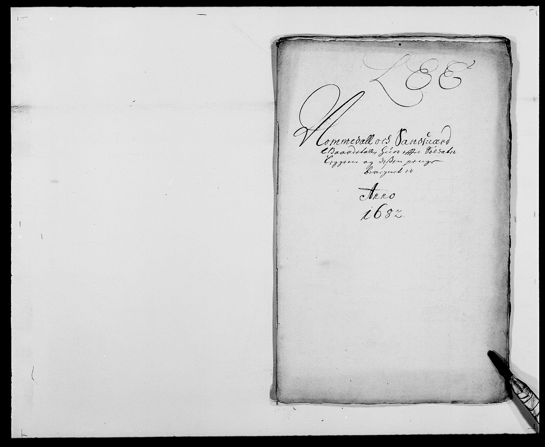 RA, Rentekammeret inntil 1814, Reviderte regnskaper, Fogderegnskap, R24/L1570: Fogderegnskap Numedal og Sandsvær, 1679-1686, s. 136