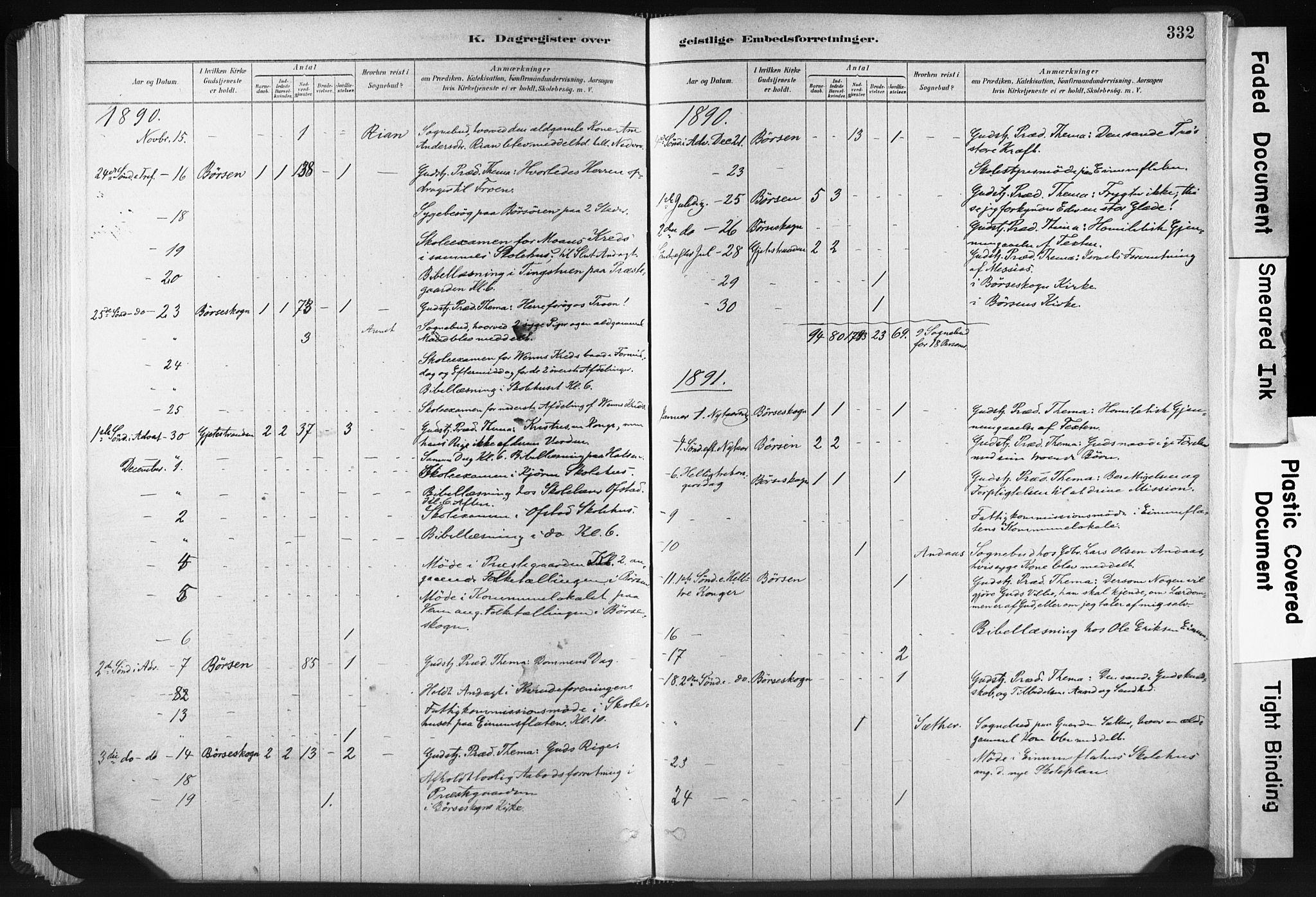 SAT, Ministerialprotokoller, klokkerbøker og fødselsregistre - Sør-Trøndelag, 665/L0773: Ministerialbok nr. 665A08, 1879-1905, s. 332