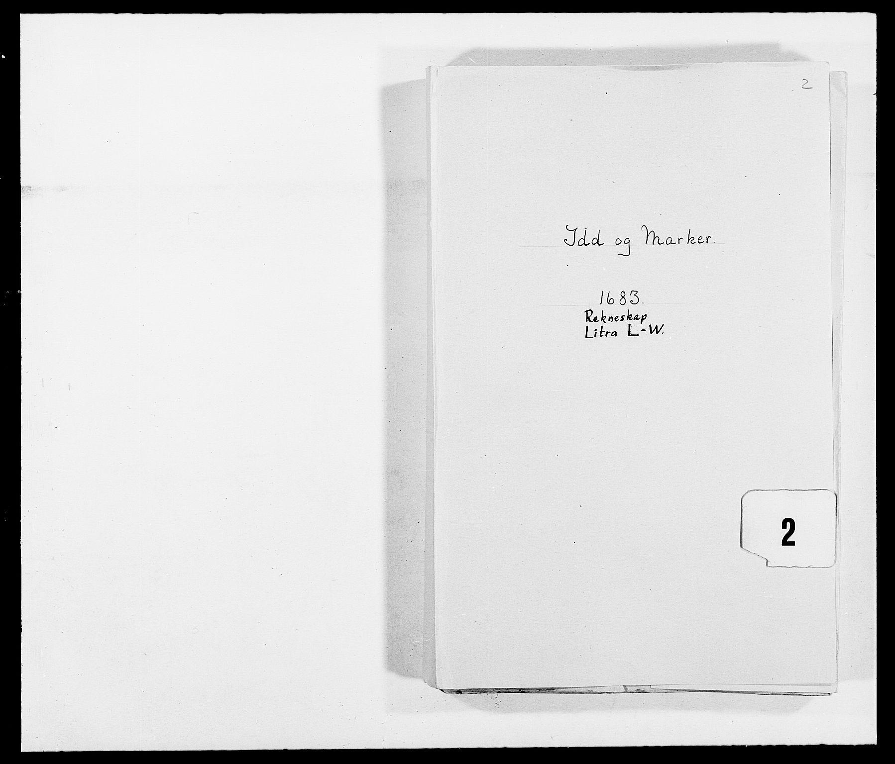 RA, Rentekammeret inntil 1814, Reviderte regnskaper, Fogderegnskap, R01/L0004: Fogderegnskap Idd og Marker , 1682-1683, s. 160