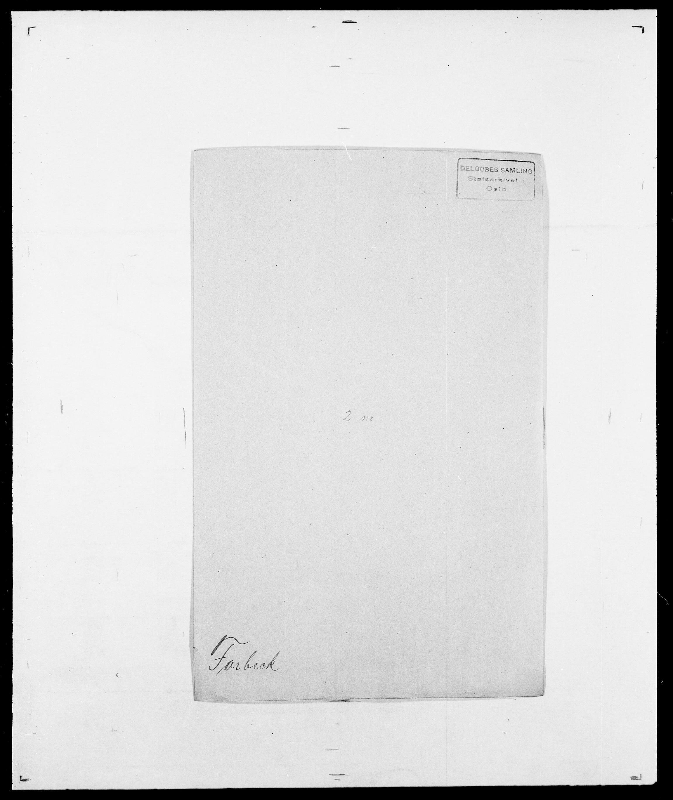 SAO, Delgobe, Charles Antoine - samling, D/Da/L0012: Flor, Floer, Flohr - Fritzner, s. 579