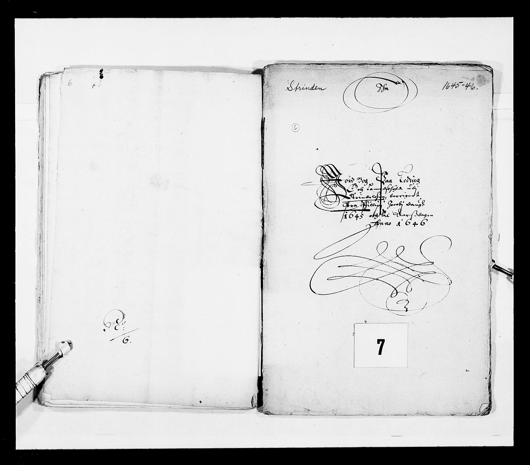 RA, Stattholderembetet 1572-1771, Ek/L0028: Jordebøker 1633-1658:, 1645-1646, s. 164