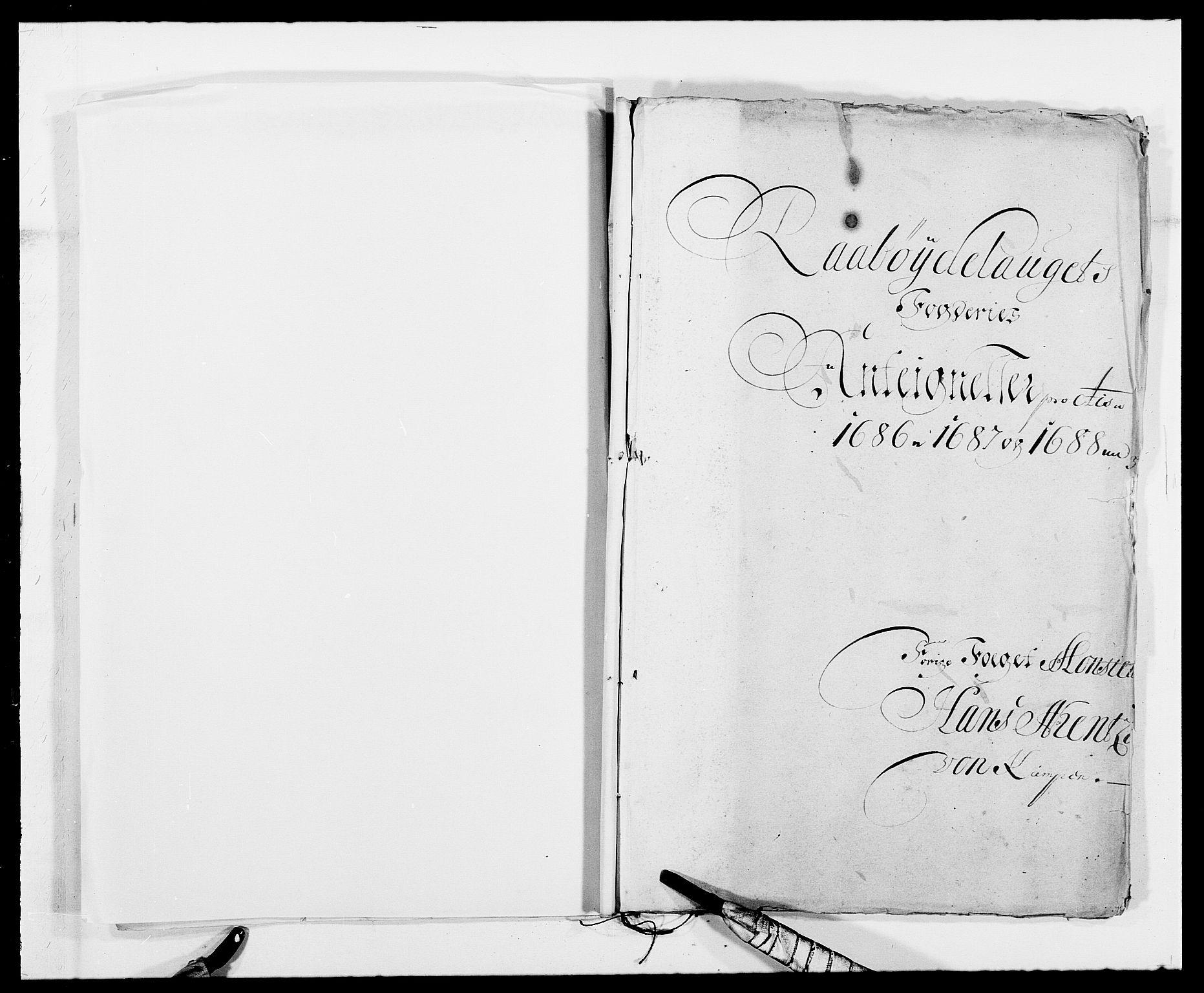 RA, Rentekammeret inntil 1814, Reviderte regnskaper, Fogderegnskap, R40/L2441: Fogderegnskap Råbyggelag, 1688, s. 91