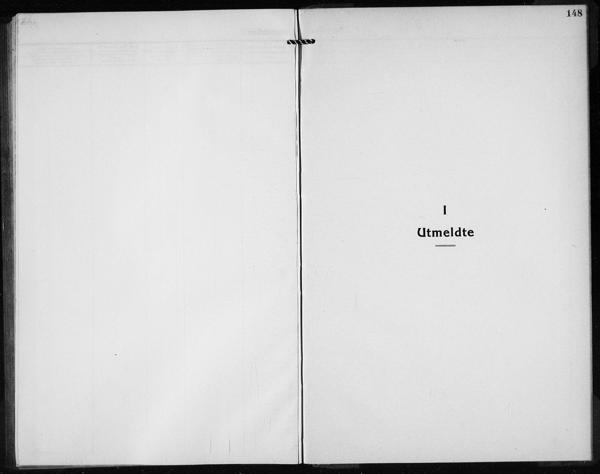 SAB, Kvinnherad Sokneprestembete, H/Haa: Ministerialbok nr. G  1, 1920-1927, s. 148