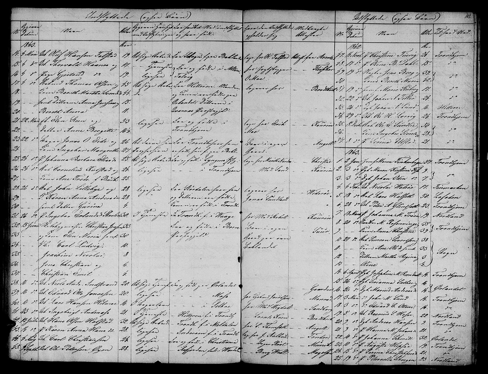SAT, Ministerialprotokoller, klokkerbøker og fødselsregistre - Sør-Trøndelag, 604/L0182: Ministerialbok nr. 604A03, 1818-1850, s. 164