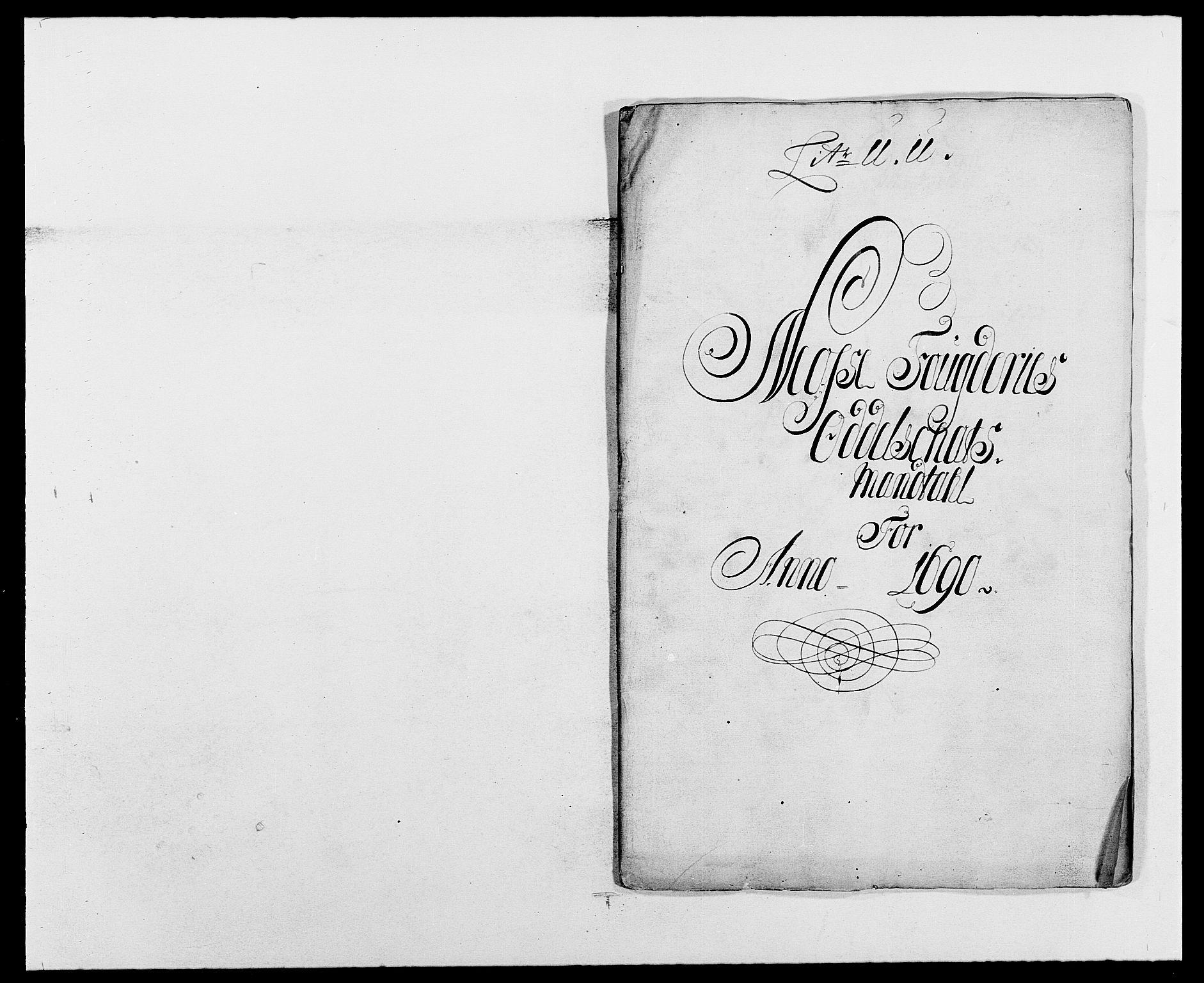 RA, Rentekammeret inntil 1814, Reviderte regnskaper, Fogderegnskap, R02/L0106: Fogderegnskap Moss og Verne kloster, 1688-1691, s. 376