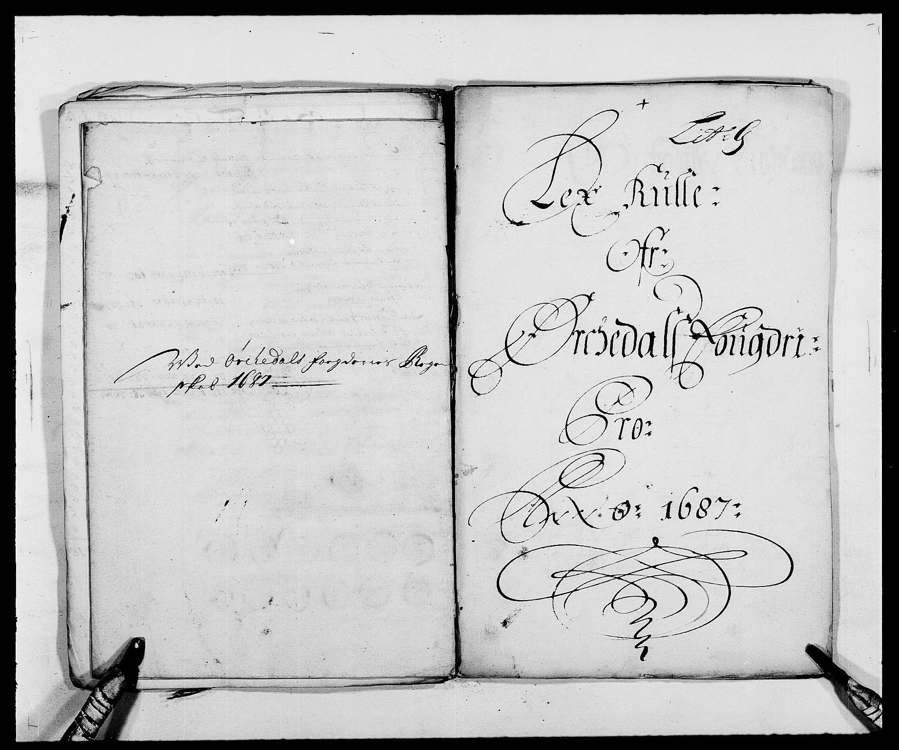 RA, Rentekammeret inntil 1814, Reviderte regnskaper, Fogderegnskap, R58/L3935: Fogderegnskap Orkdal, 1687-1688, s. 88