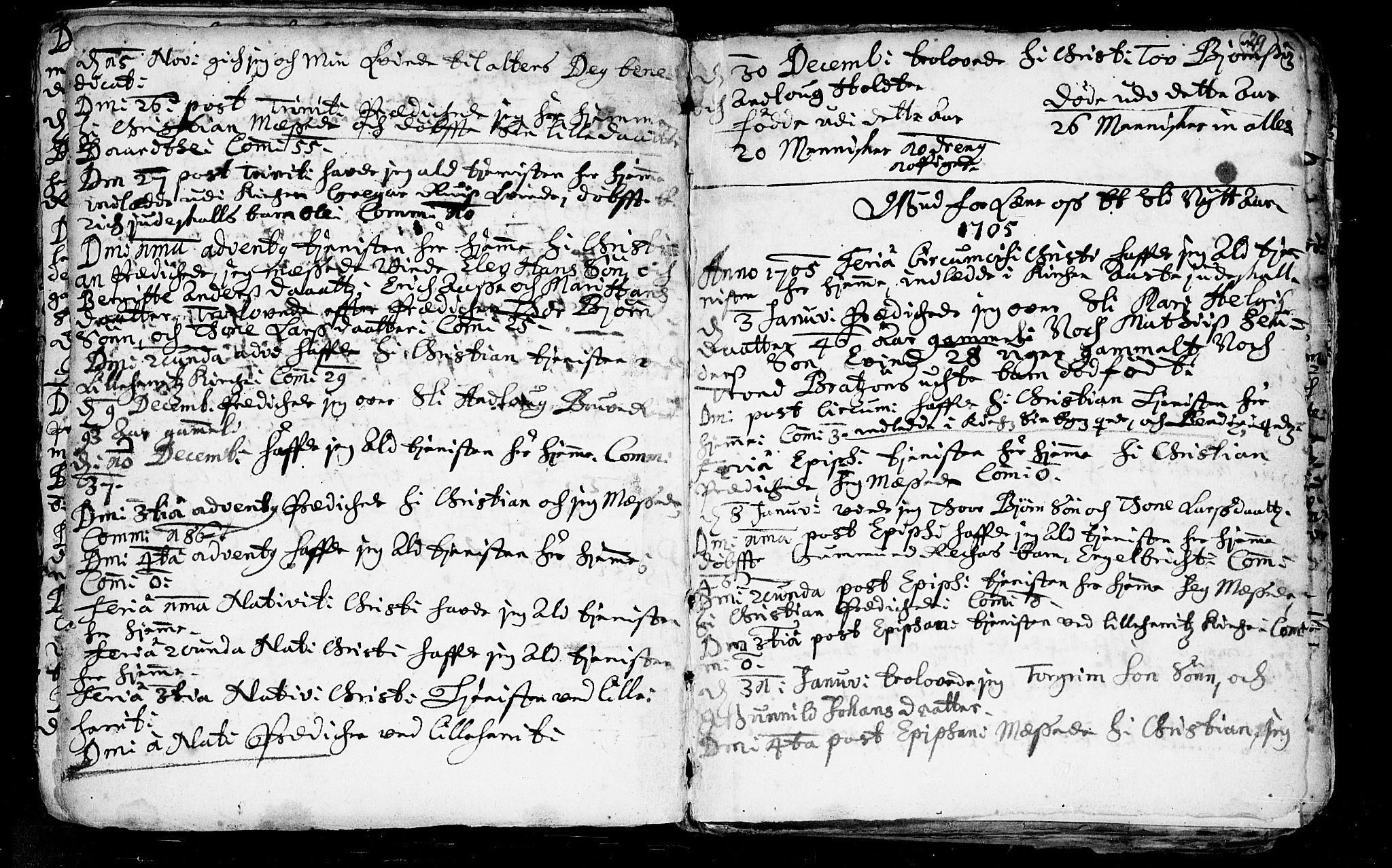 SAKO, Heddal kirkebøker, F/Fa/L0002: Ministerialbok nr. I 2, 1699-1722, s. 29