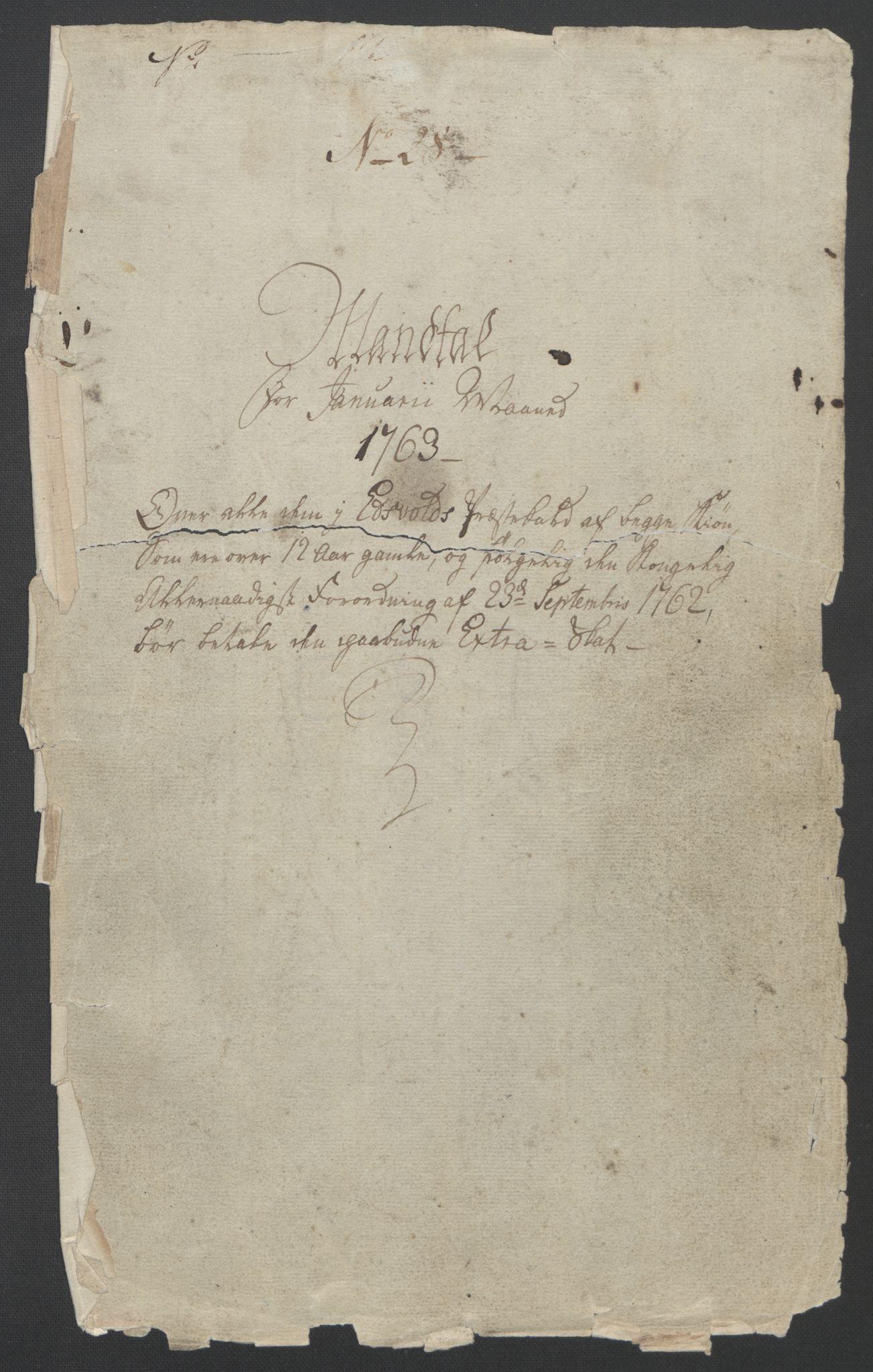RA, Rentekammeret inntil 1814, Reviderte regnskaper, Fogderegnskap, R12/L0802: Ekstraskatten Øvre Romerike, 1762, s. 468
