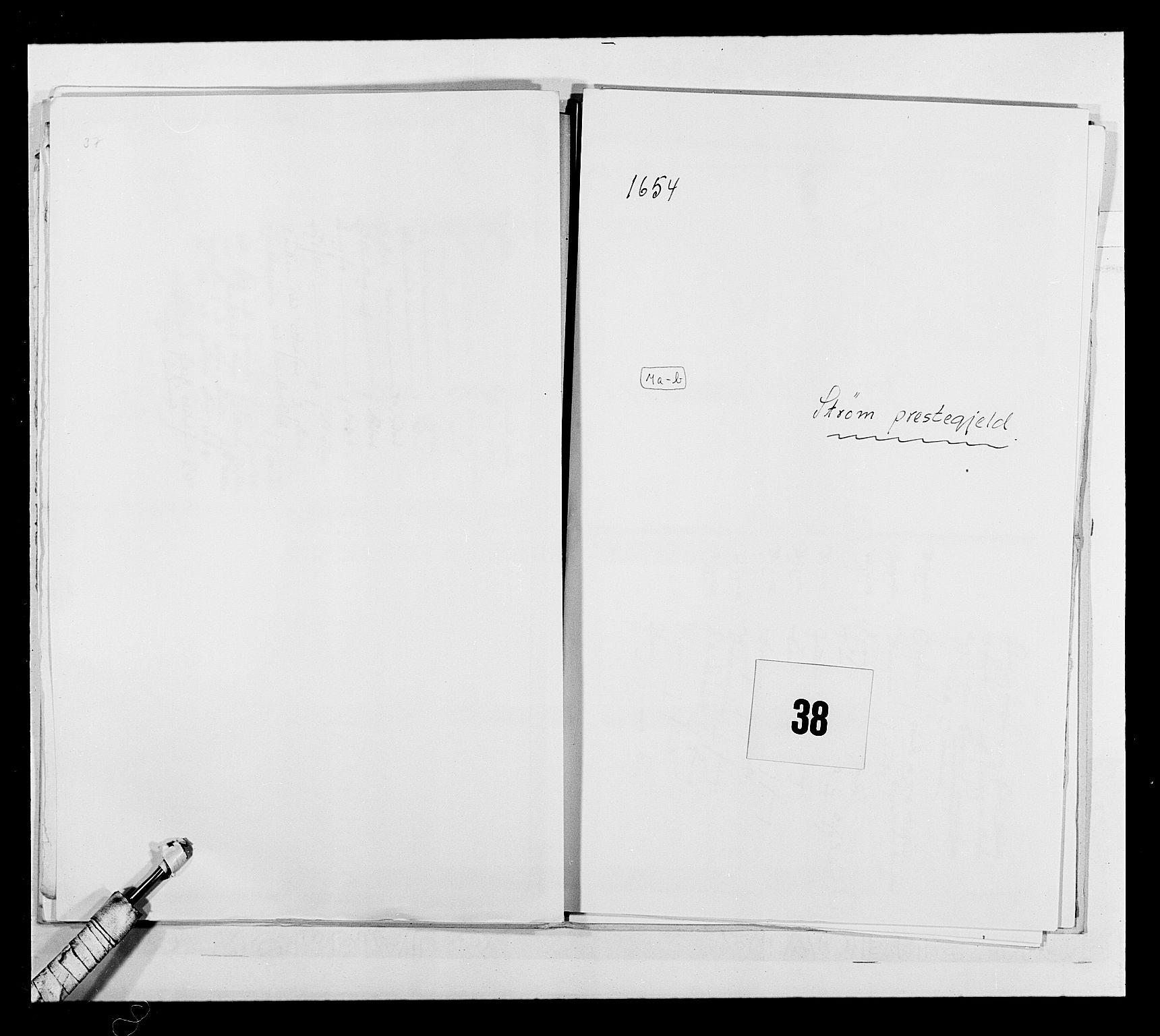 RA, Stattholderembetet 1572-1771, Ek/L0030: Jordebøker 1633-1658:, 1654, s. 179