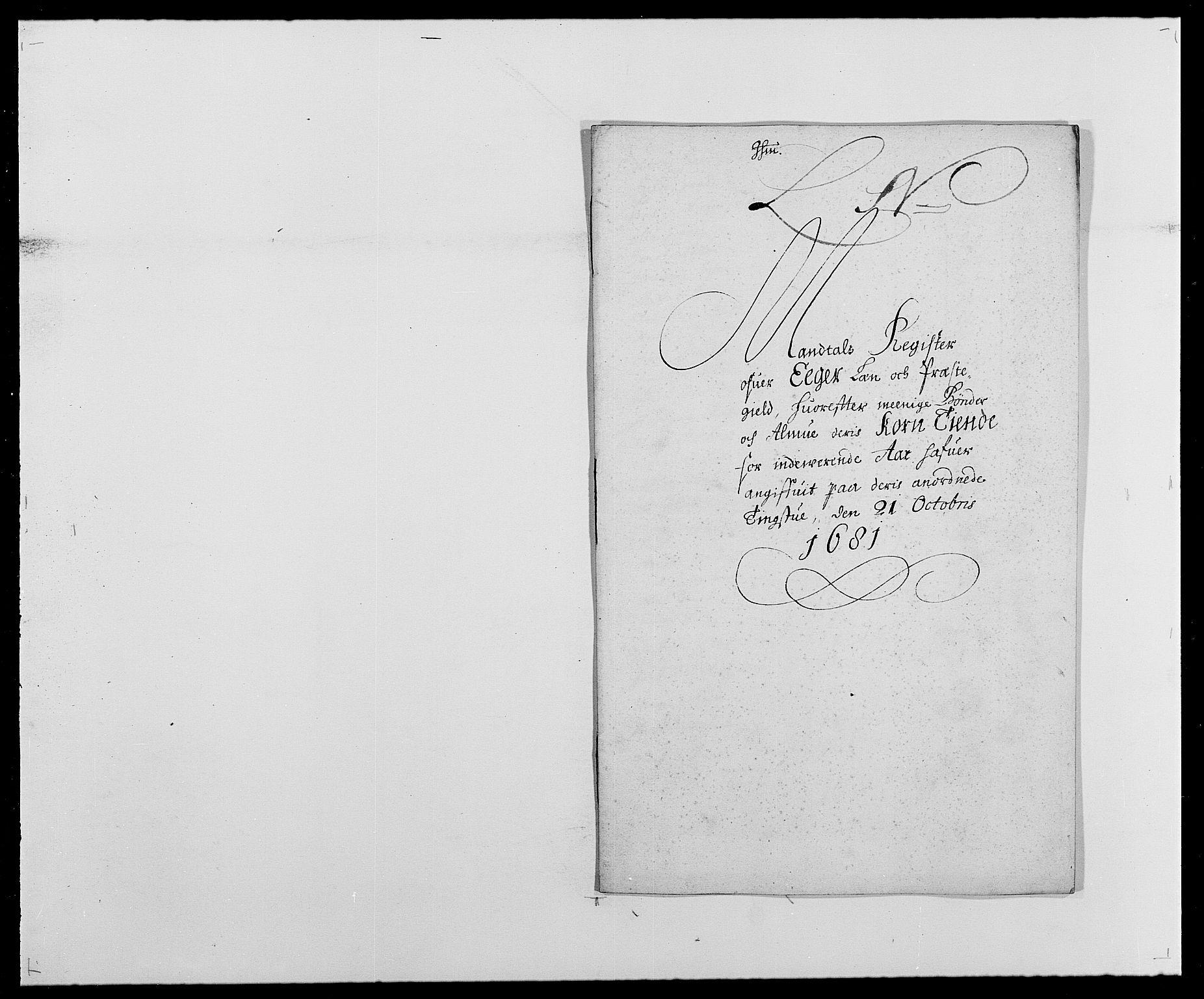 RA, Rentekammeret inntil 1814, Reviderte regnskaper, Fogderegnskap, R26/L1684: Fogderegnskap Eiker, 1679-1686, s. 184