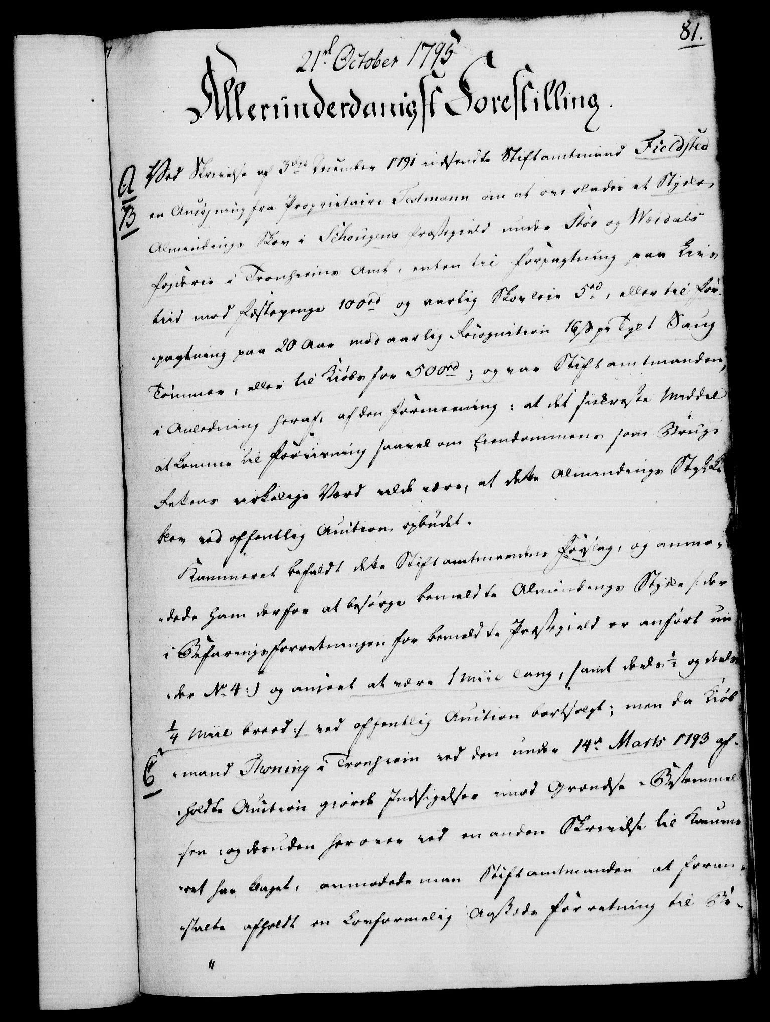 RA, Rentekammeret, Kammerkanselliet, G/Gf/Gfa/L0077: Norsk relasjons- og resolusjonsprotokoll (merket RK 52.77), 1795, s. 394