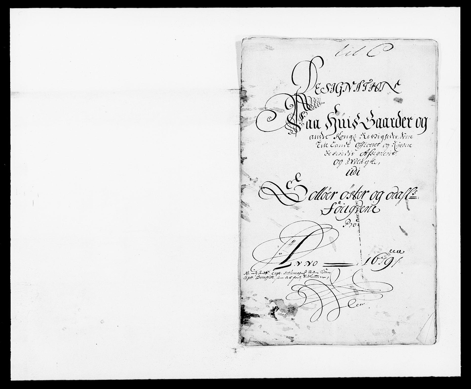 RA, Rentekammeret inntil 1814, Reviderte regnskaper, Fogderegnskap, R13/L0816: Fogderegnskap Solør, Odal og Østerdal, 1679, s. 174