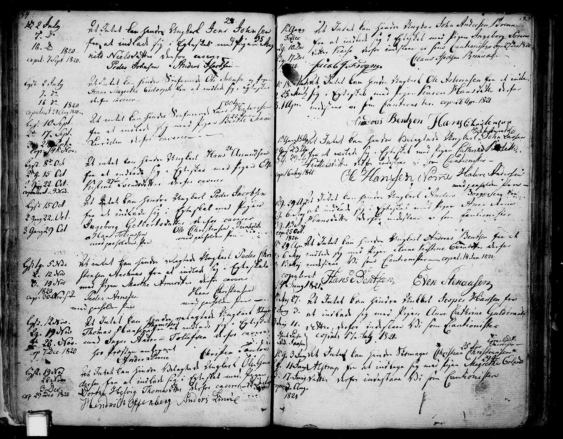 SAKO, Skien kirkebøker, F/Fa/L0004: Ministerialbok nr. 4, 1792-1814, s. 54-55