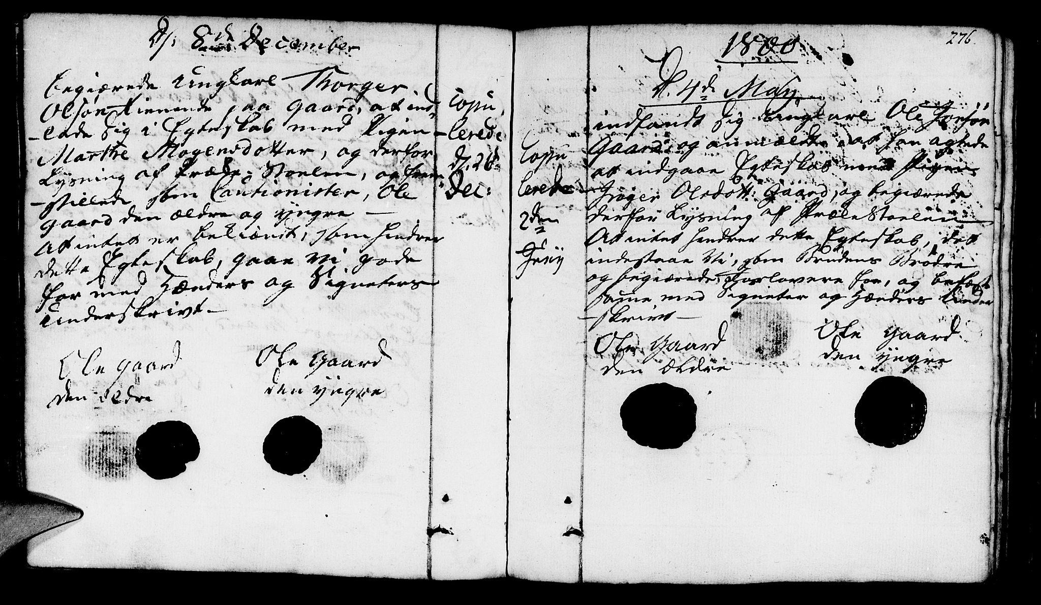 SAST, Finnøy sokneprestkontor, H/Ha/Haa/L0005: Ministerialbok nr. A 5, 1773-1816, s. 276