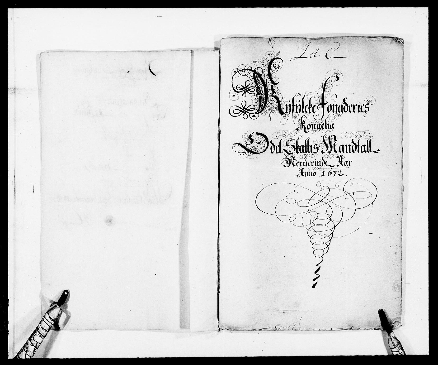 RA, Rentekammeret inntil 1814, Reviderte regnskaper, Fogderegnskap, R47/L2844: Fogderegnskap Ryfylke, 1672-1673, s. 100