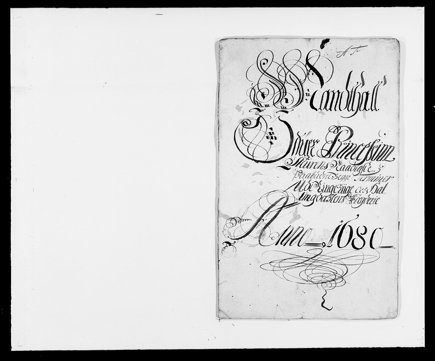RA, Rentekammeret inntil 1814, Reviderte regnskaper, Fogderegnskap, R21/L1444: Fogderegnskap Ringerike og Hallingdal, 1680-1681, s. 115