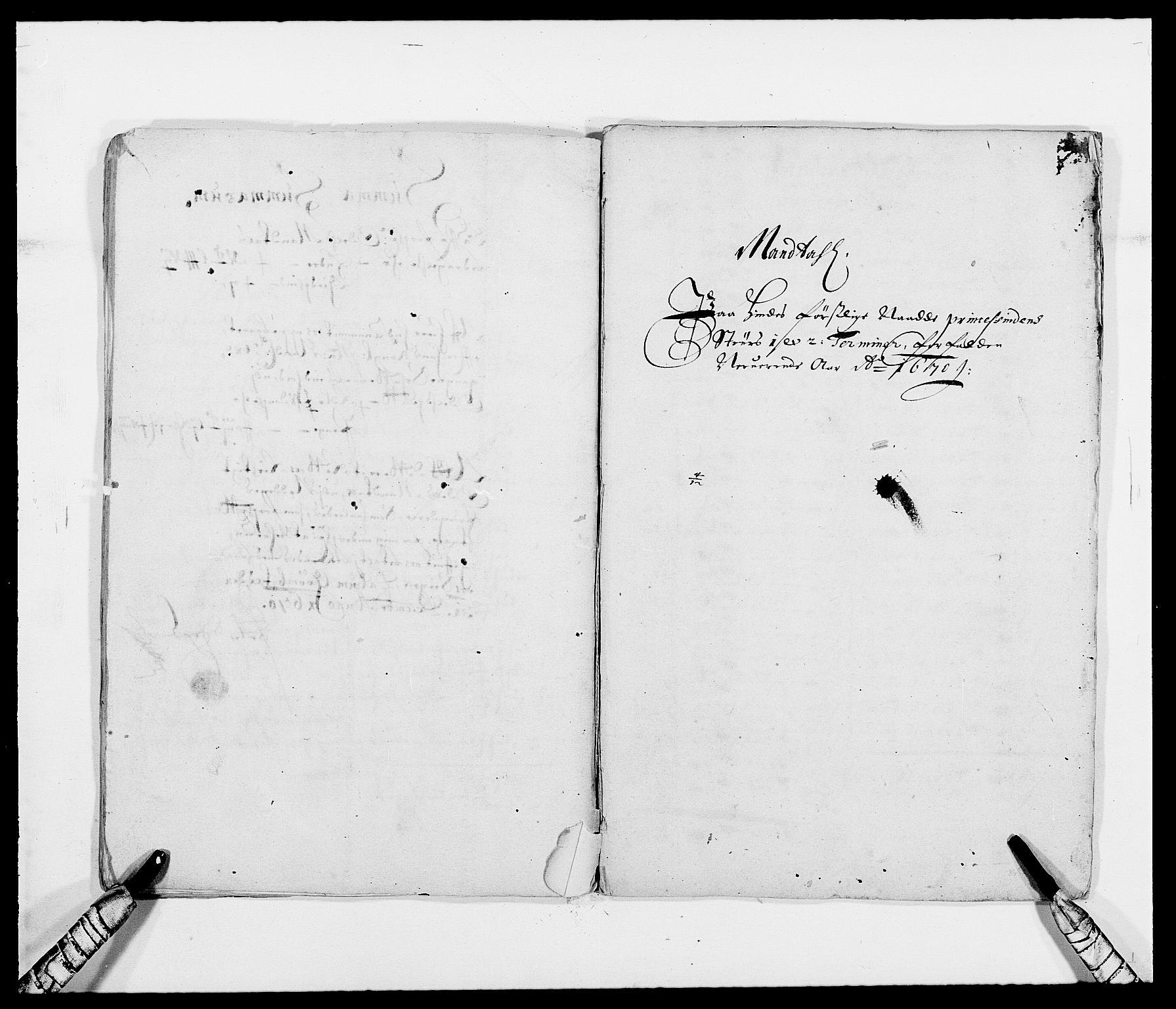 RA, Rentekammeret inntil 1814, Reviderte regnskaper, Fogderegnskap, R39/L2299: Fogderegnskap Nedenes, 1670-1671, s. 140