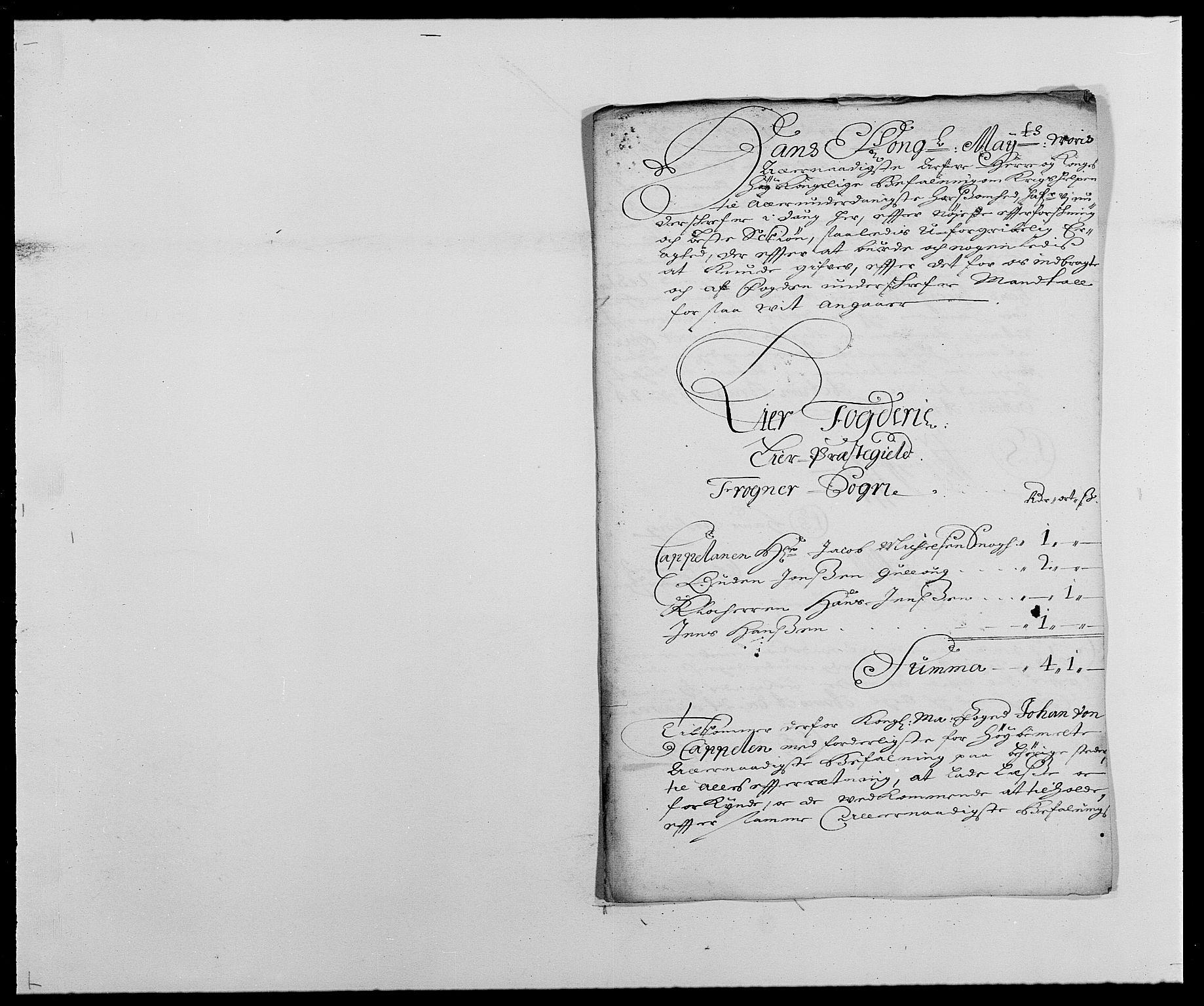 RA, Rentekammeret inntil 1814, Reviderte regnskaper, Fogderegnskap, R27/L1687: Fogderegnskap Lier, 1678-1686, s. 68