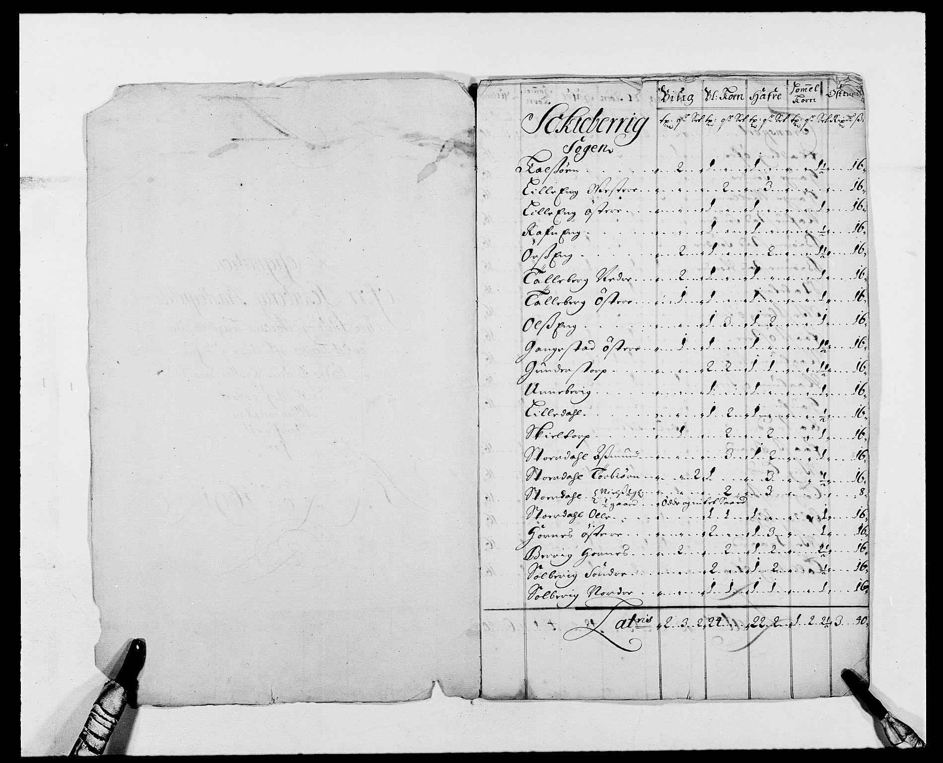 RA, Rentekammeret inntil 1814, Reviderte regnskaper, Fogderegnskap, R01/L0010: Fogderegnskap Idd og Marker, 1690-1691, s. 419