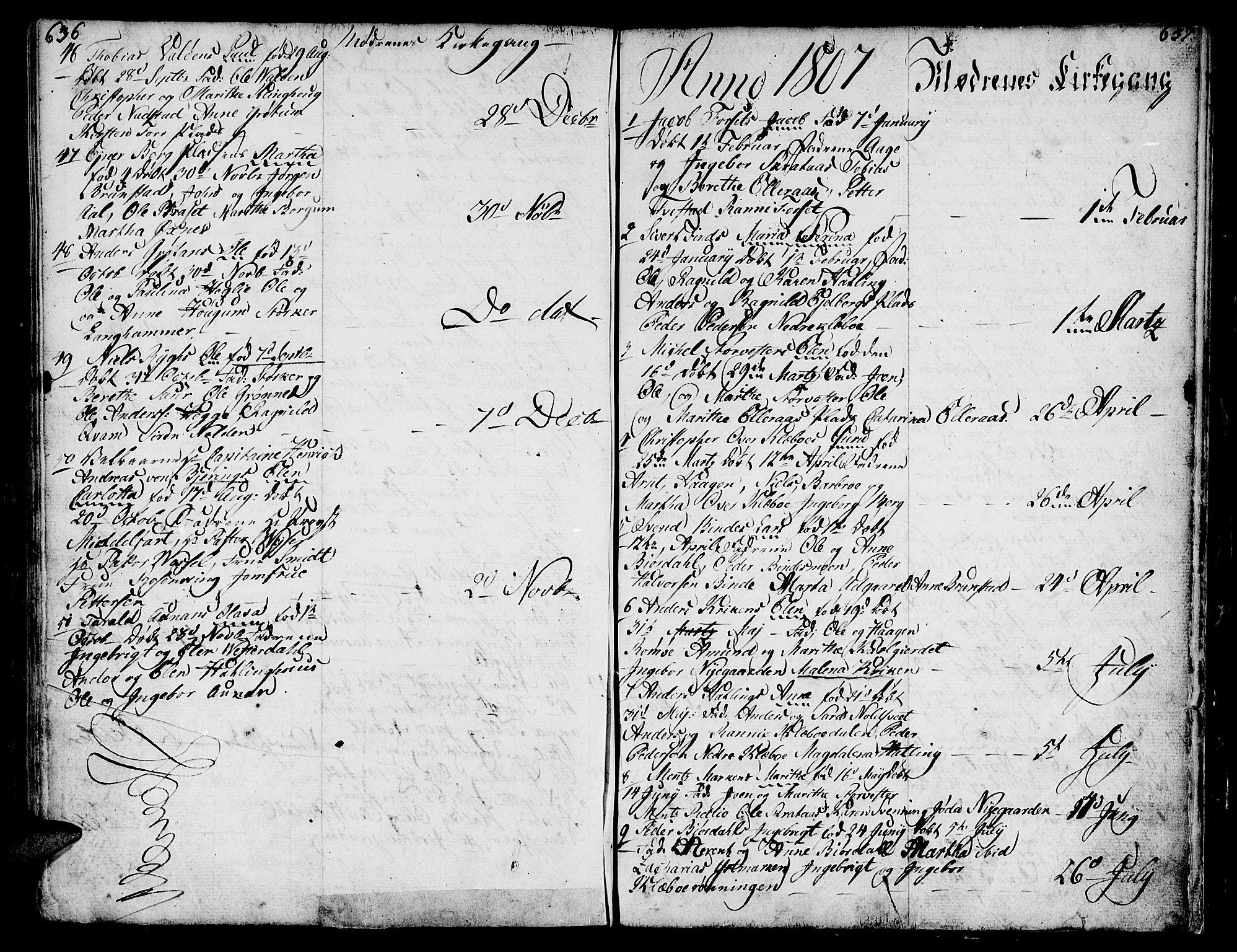 SAT, Ministerialprotokoller, klokkerbøker og fødselsregistre - Nord-Trøndelag, 746/L0440: Ministerialbok nr. 746A02, 1760-1815, s. 636-637
