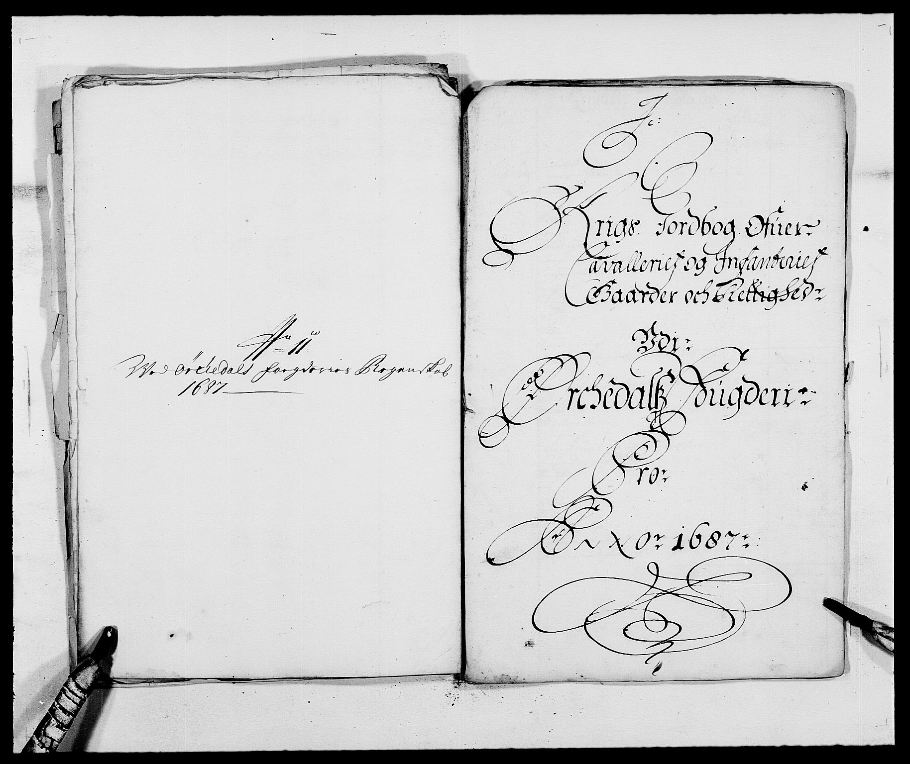 RA, Rentekammeret inntil 1814, Reviderte regnskaper, Fogderegnskap, R58/L3935: Fogderegnskap Orkdal, 1687-1688, s. 177