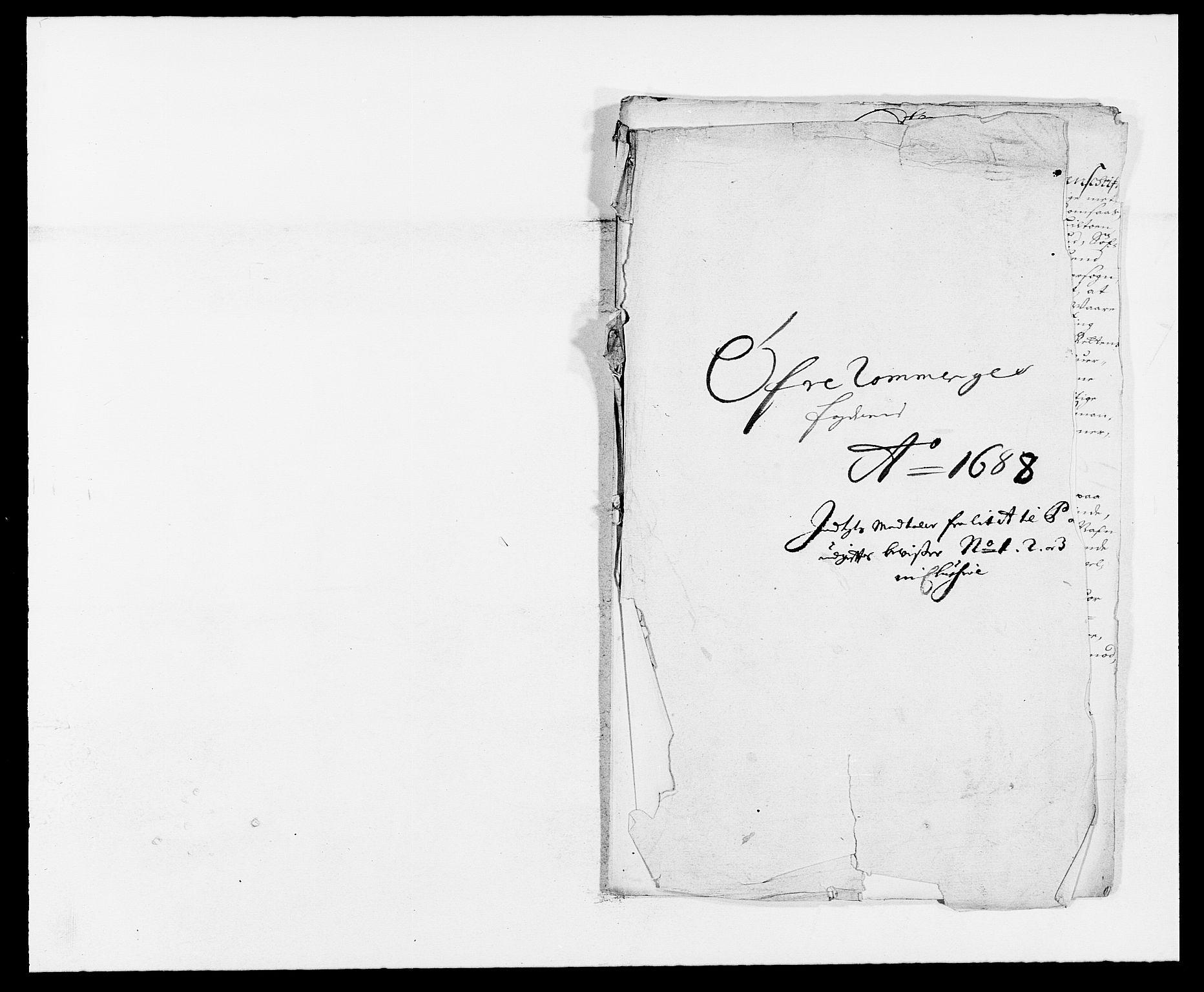 RA, Rentekammeret inntil 1814, Reviderte regnskaper, Fogderegnskap, R12/L0700: Fogderegnskap Øvre Romerike, 1687-1688, s. 447